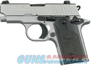 EASY PAY $66 LAYAWAY  Sig P238 HD (CA Approved) Pistol 238380HDCA, 380 ACP, Pistol 2.7 in, G10 Composite Grip, Stainless Finish, Night Sights, 6 Rd   Guns > Pistols > Sig - Sauer/Sigarms Pistols > P238