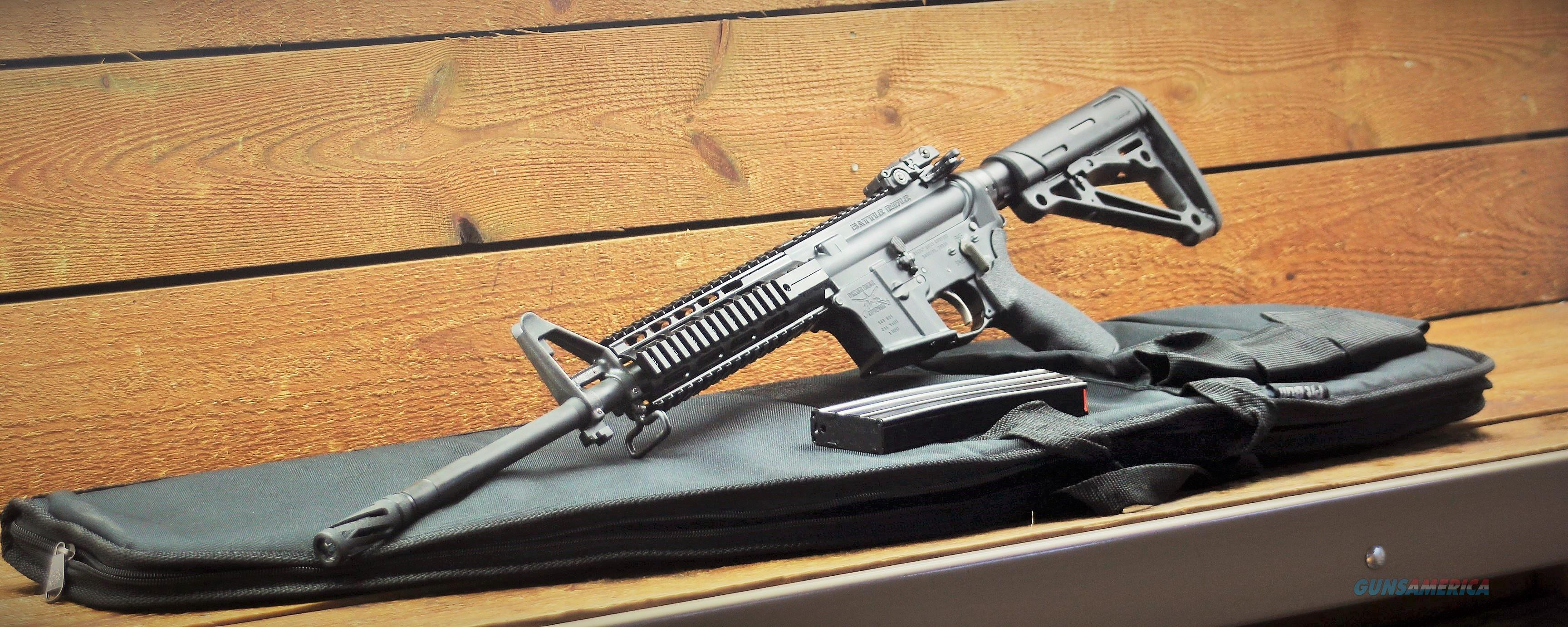 "BATTLE RIFLE 16"" 556 SPARTAN 5.56MM SPARTAN M4 PROFILE M 4 AR-15 AR15 The BR4 tactical rifles EASY PAY $59  Guns > Rifles > B Misc Rifles"