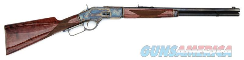 "EASY PAY $207 LAYAWAY  GIBBS RIFLE CO INC NAVY ARM 1873 357/38SPL 20' Navy Arms 1873 Winchester Lever Action Rifle .357 Mag 20"" Octagonal Barrel 10 Rounds Turnbull Color Case Hardened Receiver Walnut Stock Blued NTW73045 048702004230    Guns > Rifles > Navy Arms Rifles"