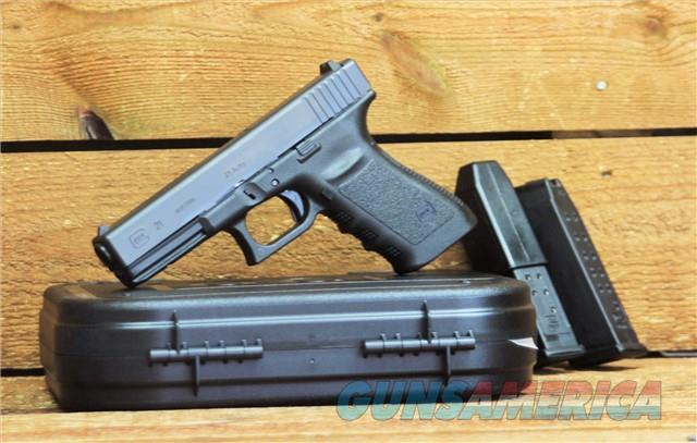 """EASY PAY $53 DOWN LAYAWAY 12 MONTHLY PAYMENTS GLOCK G21SF 4.61"""" Barrel GLK GEN3 Conceal Carry Short Slim Frame 45ACP Firepower Automatic Colt Pistol F/S  RL 13RD  GLK 21 Sights Fixed lightweight POLY PF2150203 Gen 3   Guns > Pistols > Glock Pistols > 20/21"""