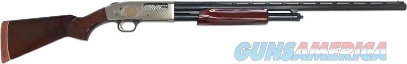$75 Easy Pay Mossberg 500 CENNTENIAL EDITION  1 of 750 TALO Limited Edition NICKEL COATED RECEIVER CLASSIC FIELD 12GA WALNUT GAME BIRD Hunting DUCK PUMP Jams less WOOD POLISHED BARREL 50100  Guns > Shotguns > Mossberg Shotguns > Pump > Sporting
