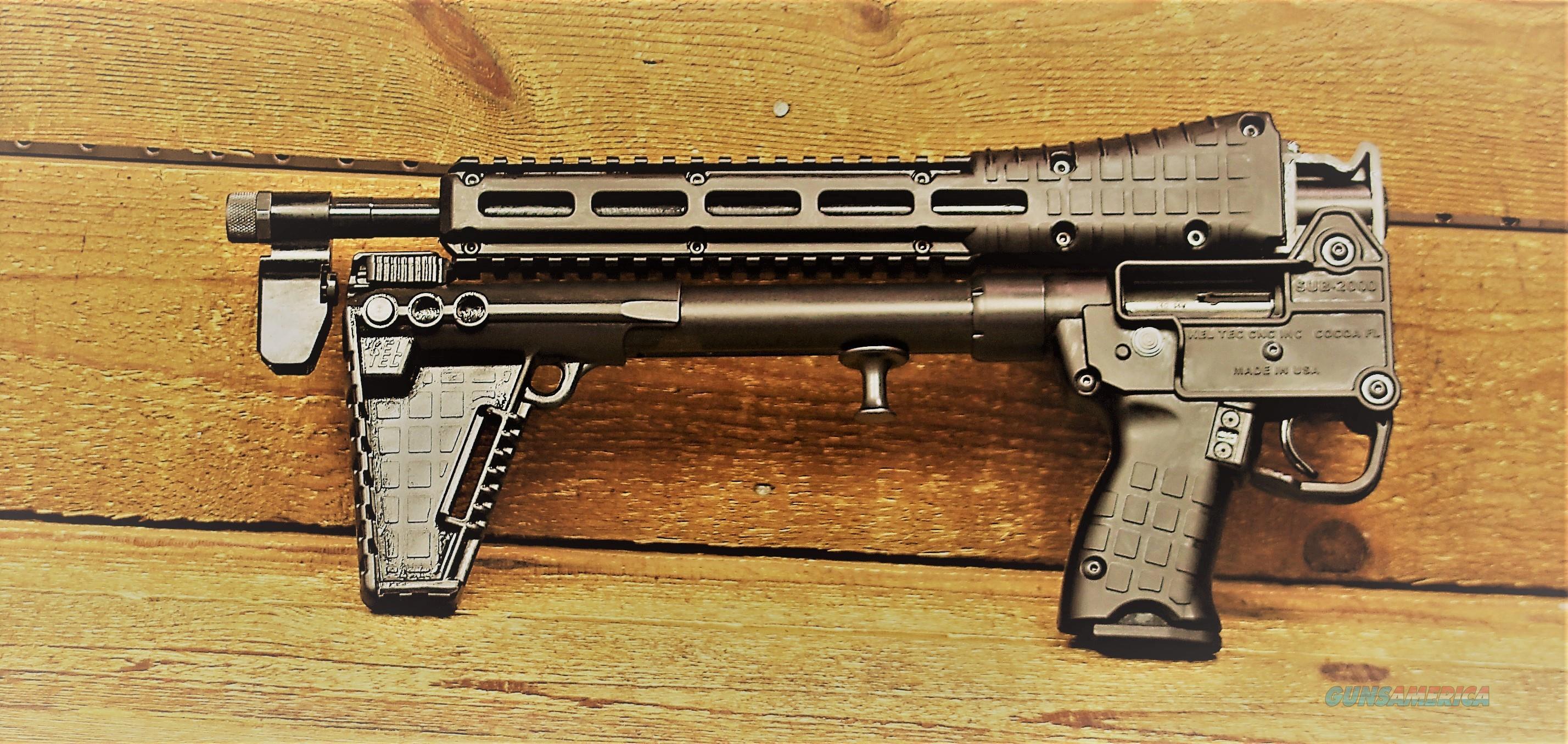 "EASY PAY $38 LAYAWAY  KEL-TEC SUB2000 G2 .40SW 16.25"" barrel threaded Keltec Sub-2000 10 rd 40 Smith and Wesson M&P 40S&W MAGAZINES Magpul M-Lok Picatinny rails TAKEDOWN Black adjustable stock Gator Grip texture SUB40MP   Guns > Rifles > Kel-Tec Rifles"