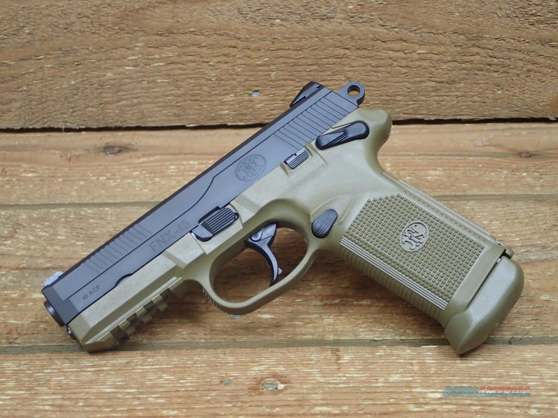FNH FNX-45 3-15RD Mags 66964 FNX45 /EZ PAY $67 Monthly  Guns > Pistols > FNH - Fabrique Nationale (FN) Pistols > FNX