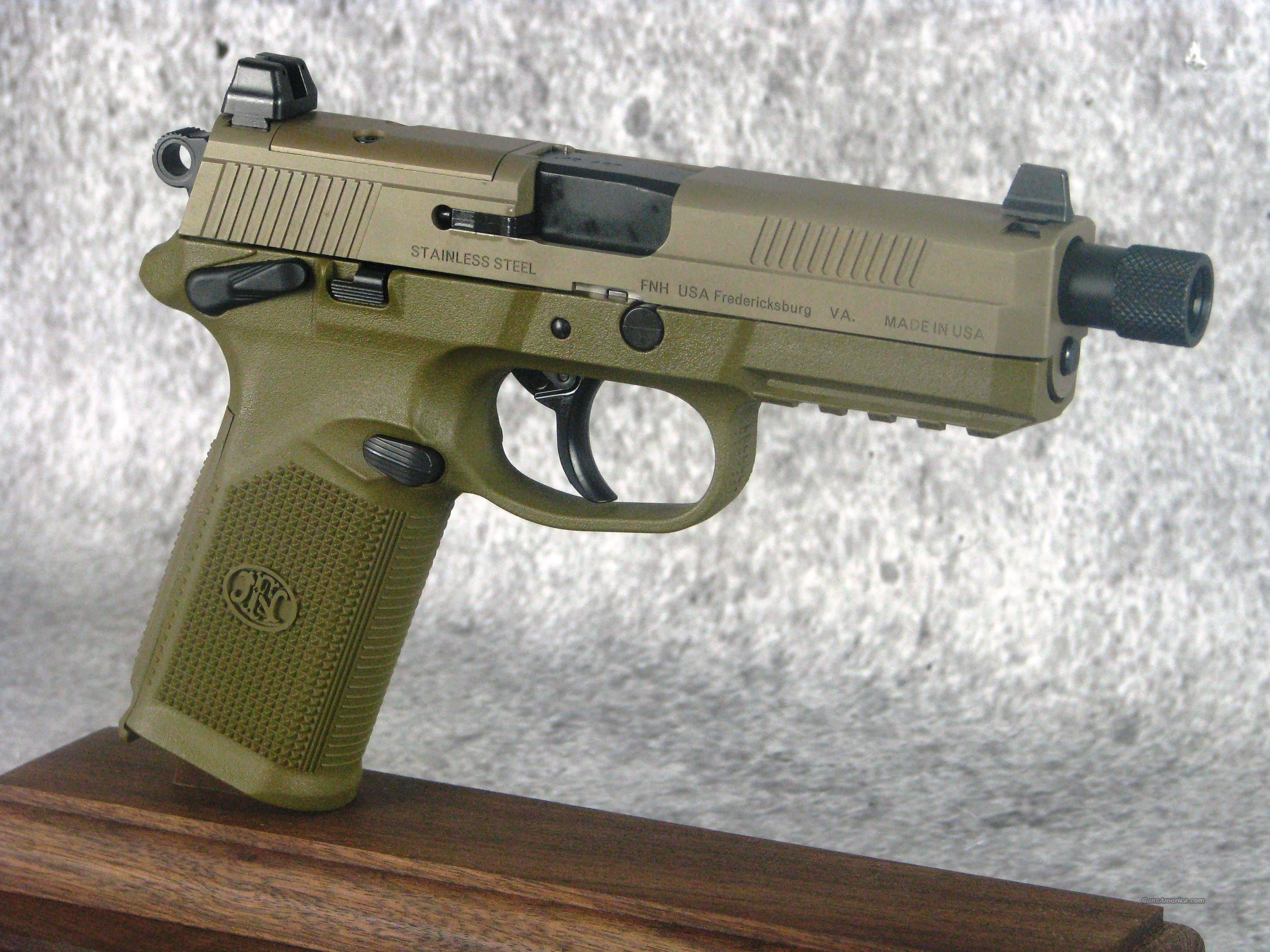 FN FNX-45 Tacical 45 66968 /EASY PAY $103 Monthly  Guns > Pistols > FNH - Fabrique Nationale (FN) Pistols > FNP
