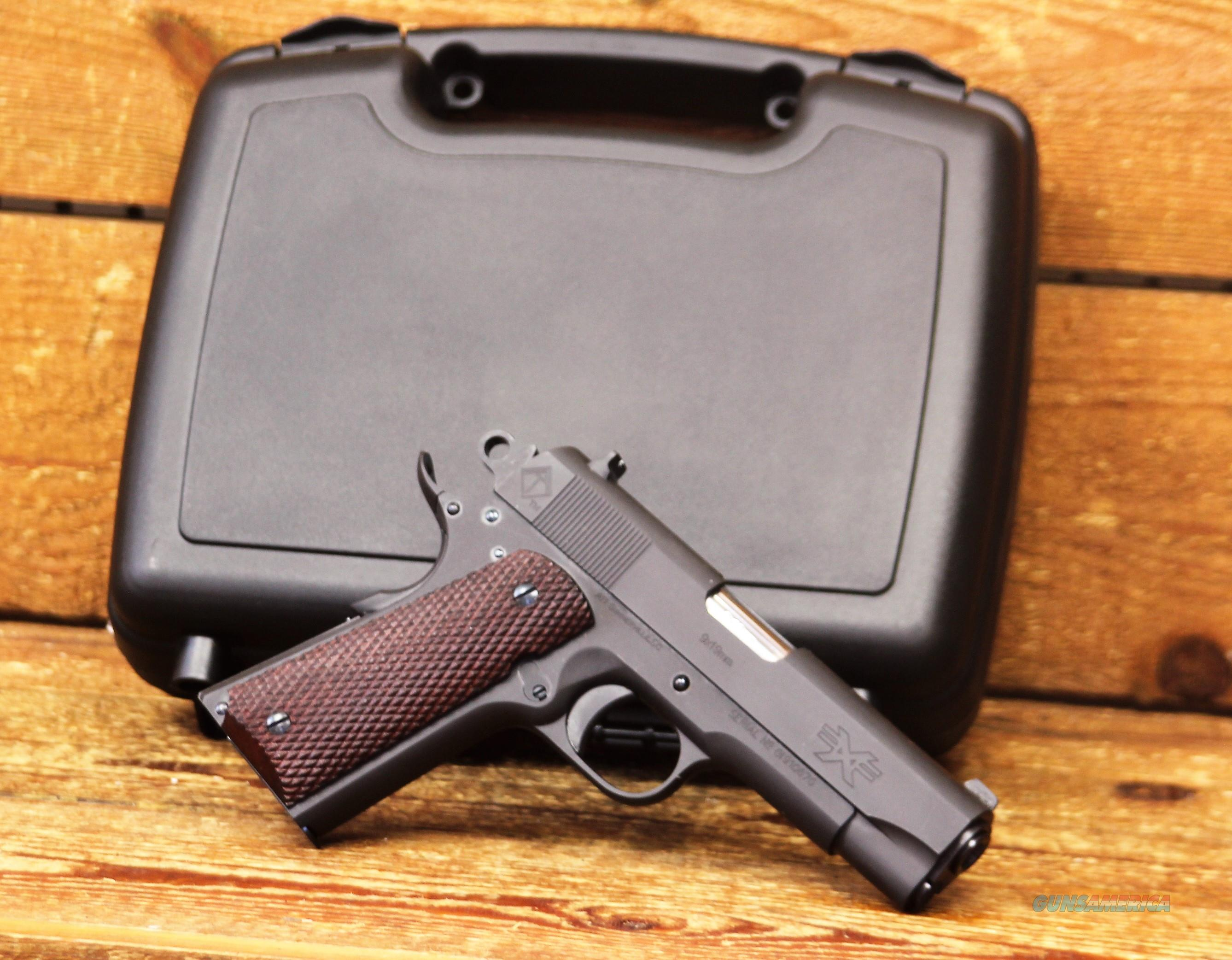 "EASY PAY $38 LAYAWAY  ATI FX1911 ATIGFX9GI GI is a classic Commander sized 1911 Semi Auto Pistol 9mm 4.25"" Barrel 9 Rounds Wood Grips Matte Black FX9GI  Guns > Pistols > American Tactical Imports Pistols"