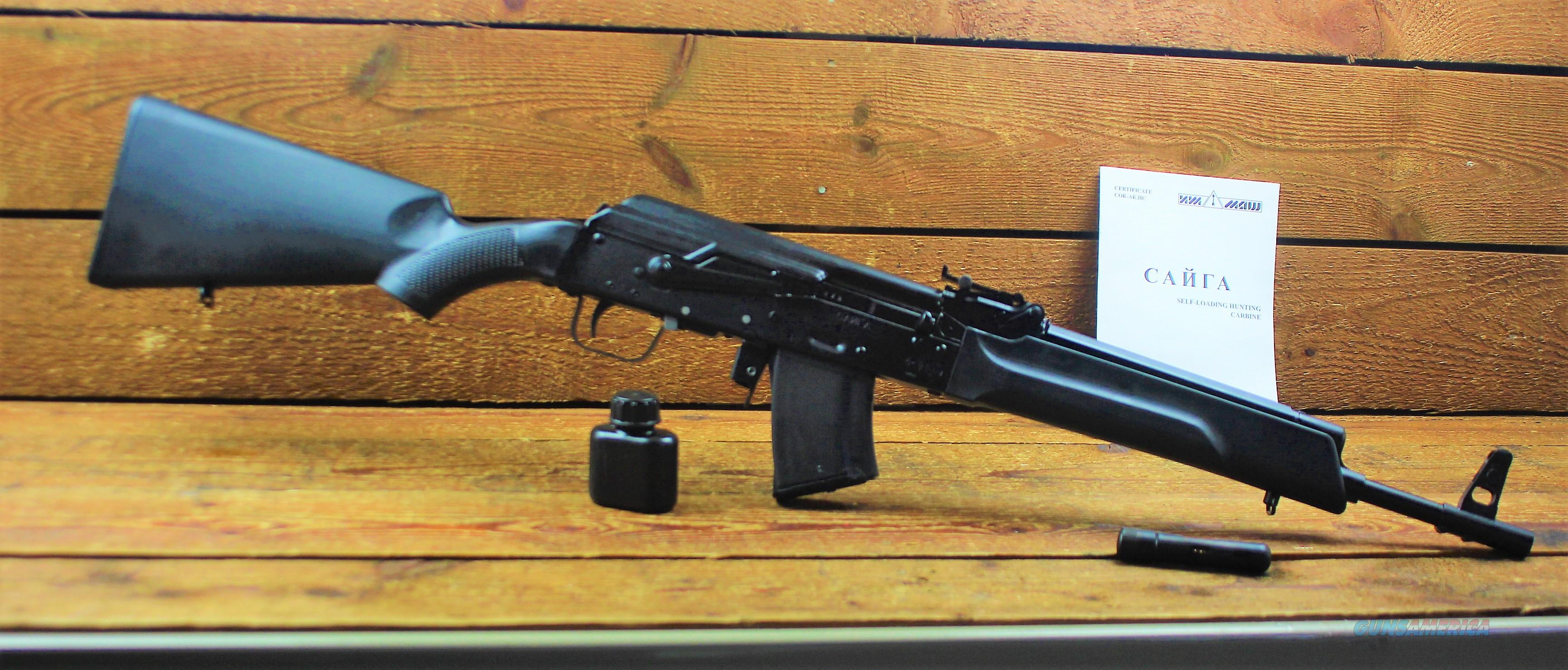 RARE BANNED RWC Group SAIGA IZ132l AK-47 AK47 7.62X39 16 BBL 10RD EASY PAY $105  Guns > Rifles > AK-47 Rifles (and copies) > Full Stock