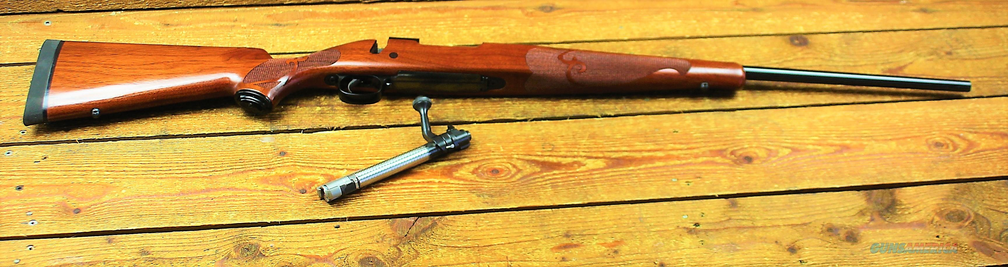 Winchester M70 Featherweight offers pre 64 style  Bolt Action Rifle 535109220, 308 Winchester, 22 in, Walnut Stock, Blue Finish, 5 Rds EASY PAY LAYAWAY $74  Guns > Rifles > Winchester Rifles - Modern Bolt/Auto/Single > Model 70 > Post-64
