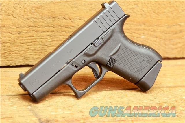 Glock 43 Single Stack Pistol PI4350201, 9mm, Synthetic Grips EASY PAY $47  Guns > Pistols > Glock Pistols > 42