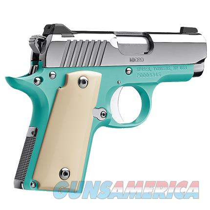 KIMBER  Micro 9 CDP is a great compact 9mm  BelAir 9MM BLUE Ivory Micarta grips concealed carry Stainless steel KIM3300110  Guns > Pistols > Kimber of America Pistols > Micro 9