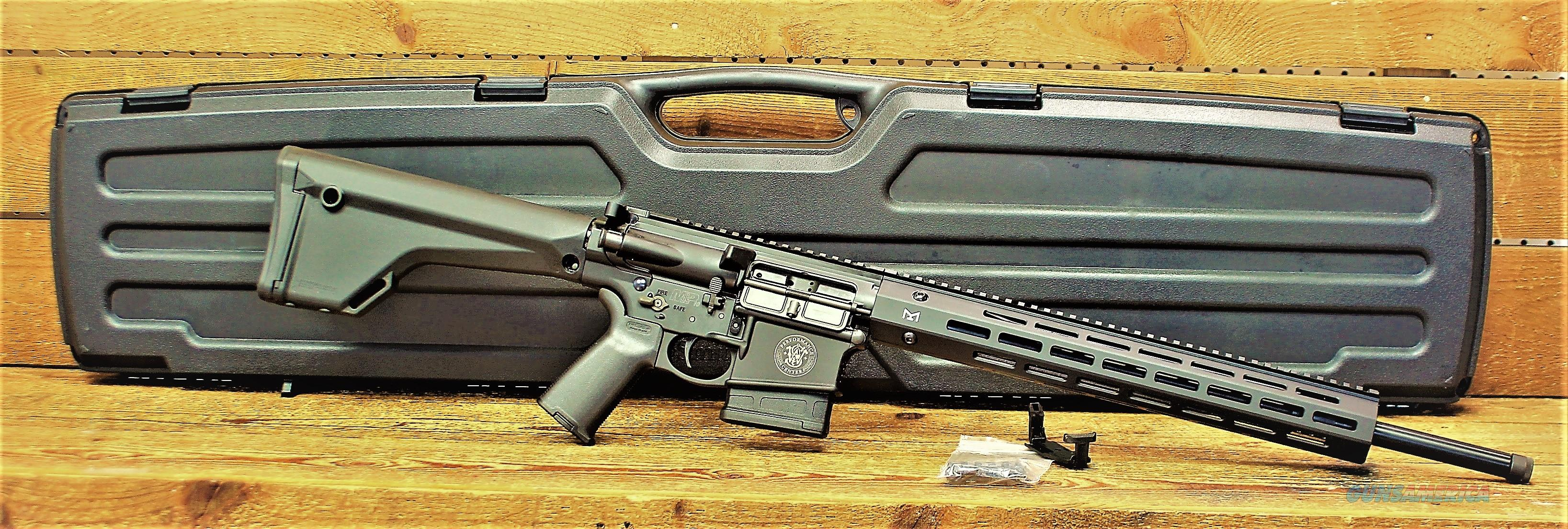 $104  EASY PAY DOWN LAYAWAY Performance Center Smith&Wesson model M&P10 AR-10 in powerful 6.5 Creed LONG RANGE Carbon Steel Threaded Muzzle break TACTICAL Optic Ready AR10 Magpul MOE Black Synthetic Stock Armornite  accessory rail 10057  Guns > Rifles > Smith & Wesson Rifles > M&P