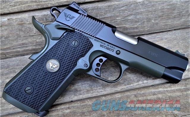 "WILSON COMBAT CUSTOM CQB Commander Compact 1.5"" group at 25YDS /EZ Pay $158  Guns > Pistols > Wilson Combat Pistols"