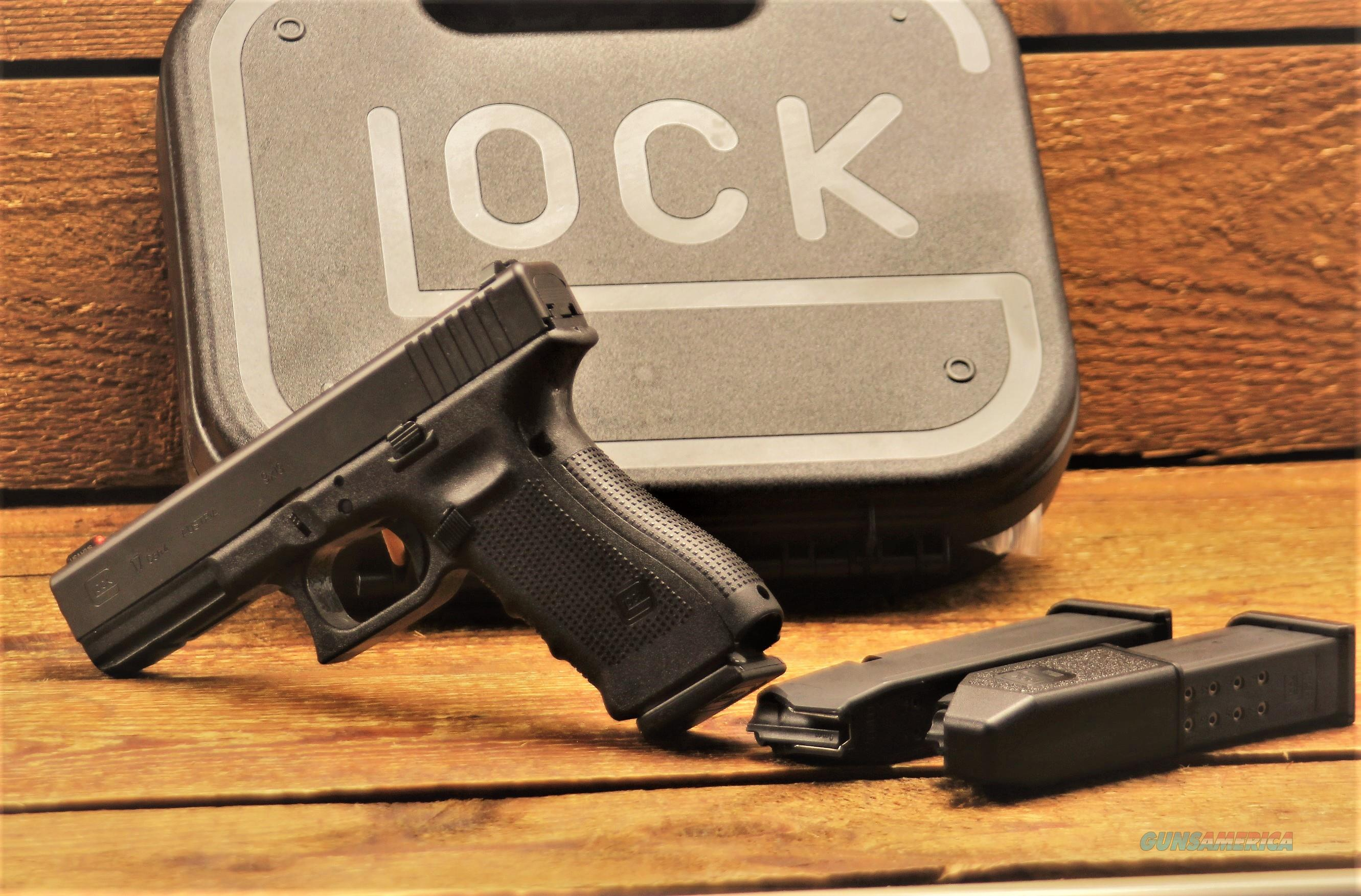 GLOCK 17 Gen 4  Polymer Frame  g17 GloPro Tritium Front Night Sight PG1750503 764503914478 GLOCK 17  law enforcement elite military EASY PAY $53  Guns > Pistols > Glock Pistols > 17