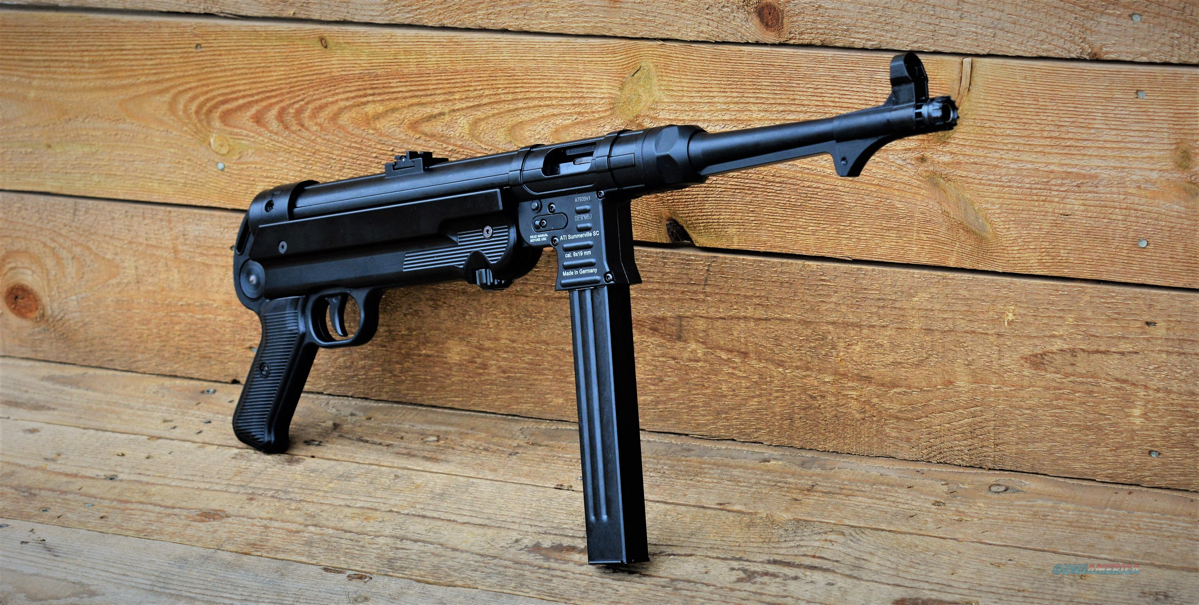 $32 Sale German Sport MP40P WWII MP-40 Sling Recommended!! Used by the socialist party - Communists Party & Dictators the universal Party of Genocide & all-around bad things. God bless America & Capitalism ATI MP40 PISTOL 25 rds  GERGMP409X  Guns > Pistols > American Tactical Imports Pistols