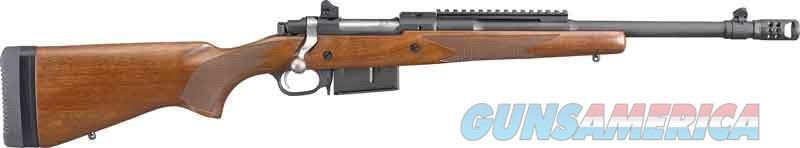 "EASY PAY $84 LAYAWAY Ruger Gunsite Scout Bolt Action Rifle .450 Bushmaster 16.10"" Barrel 4 Rounds Protected Blade Front Sight Adjustable Rear Sight American Walnut Stock  Guns > Rifles > Ruger Rifles > AR Series"