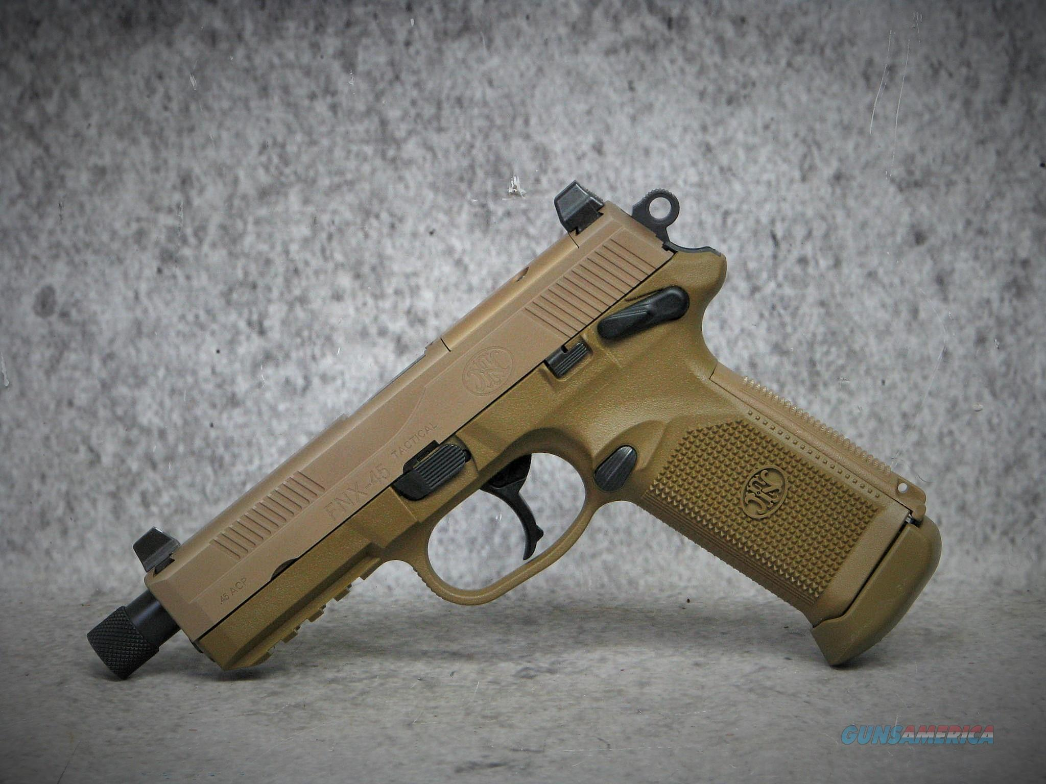 FN FNX-45 Tactical 45ACP 3-15RD Mags 66968 FNX45 /EASY PAY $102 MONTHLY  Guns > Pistols > FNH - Fabrique Nationale (FN) Pistols > FNP