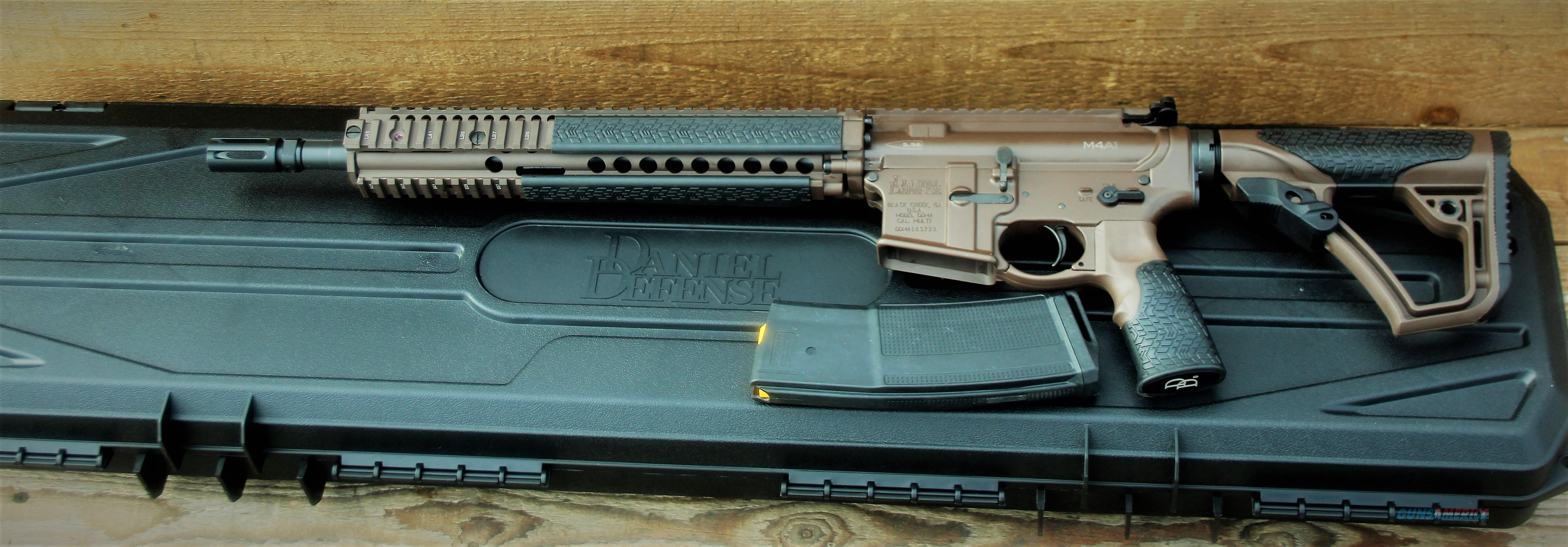 EZ PAY $111 Daniel Defense M4A1 Lightweight carbine collapsible stock Mobile M4 in 5.56 NATO Rail Interface System Special Operations Command Contract 32-round DDM4A1MSP  Guns > Rifles > Daniel Defense > Complete Rifles