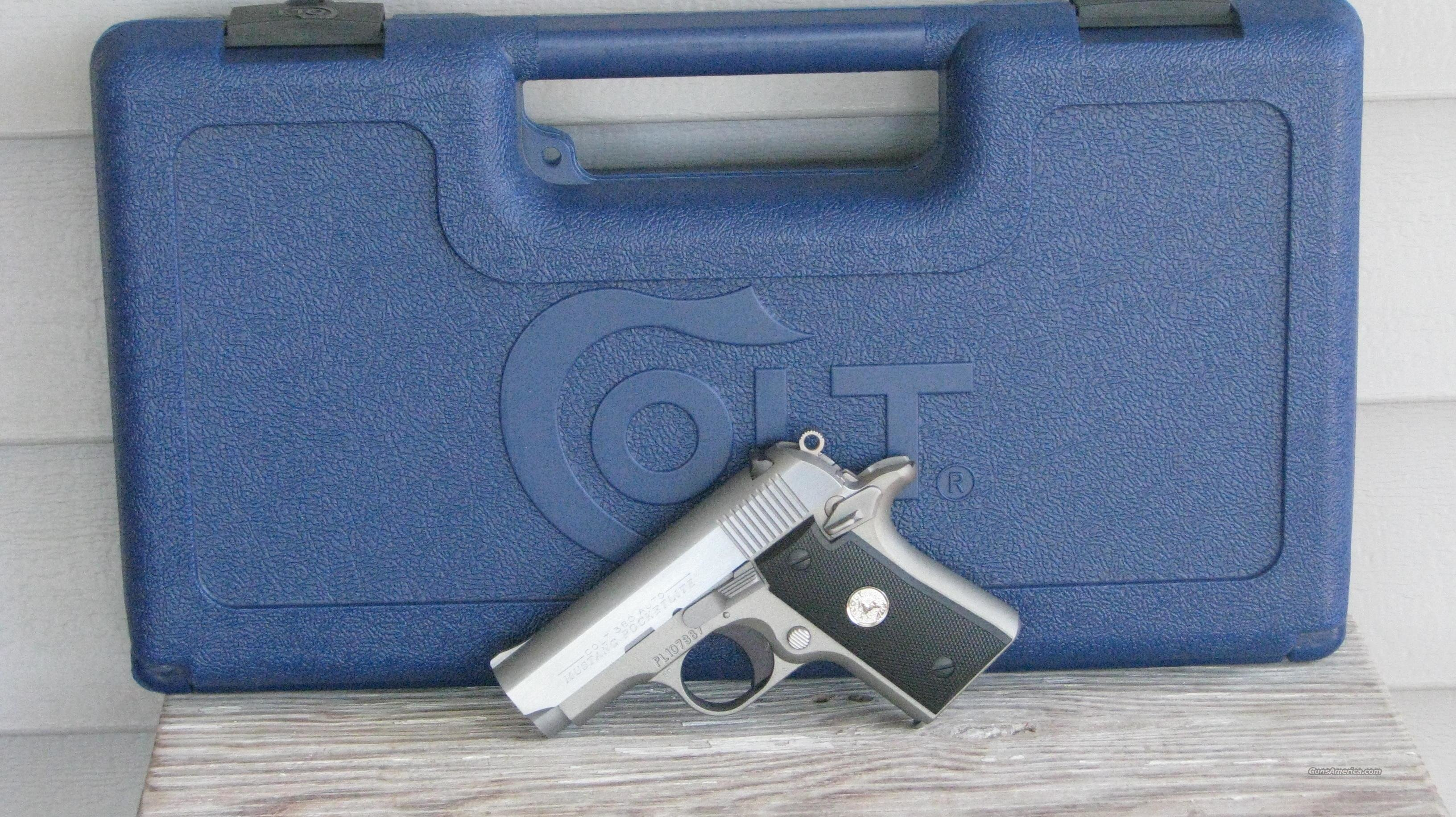 COLT MUSTANG POCKETLITE 1911 O6891 /EASY PAY $63 Monthly  Guns > Pistols > Colt Automatic Pistols (.25, .32, & .380 cal)