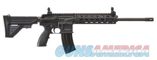 EZ PAY $252 HECKLER AND KOCH (HK USA) MR556A1  FAMILY MR556 Series 5.56 NATO MIL-STD-1913 Picatinny  rails Cold hammer forged barrel Collapsible Stock black  Guns > Rifles > Heckler & Koch Rifles > Tactical