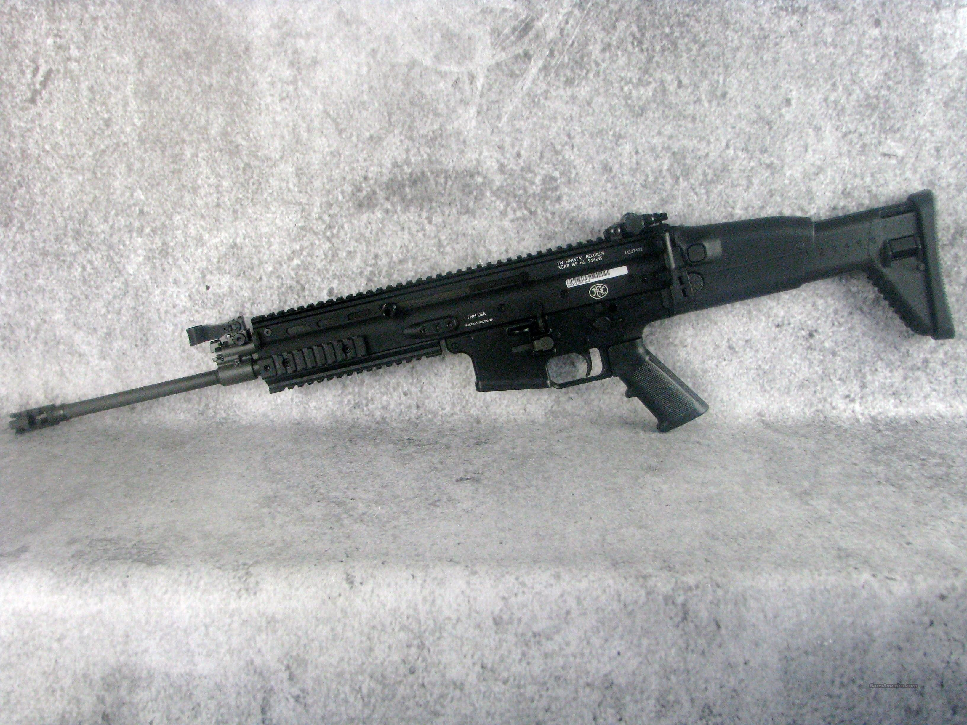 FNH SCAR 16s  5.56 223 98521 /EASY PAY $224 Monthly Guns > Pistols > FNH - Fabrique Nationale (FN) Rifles > Semi-auto > SCAR