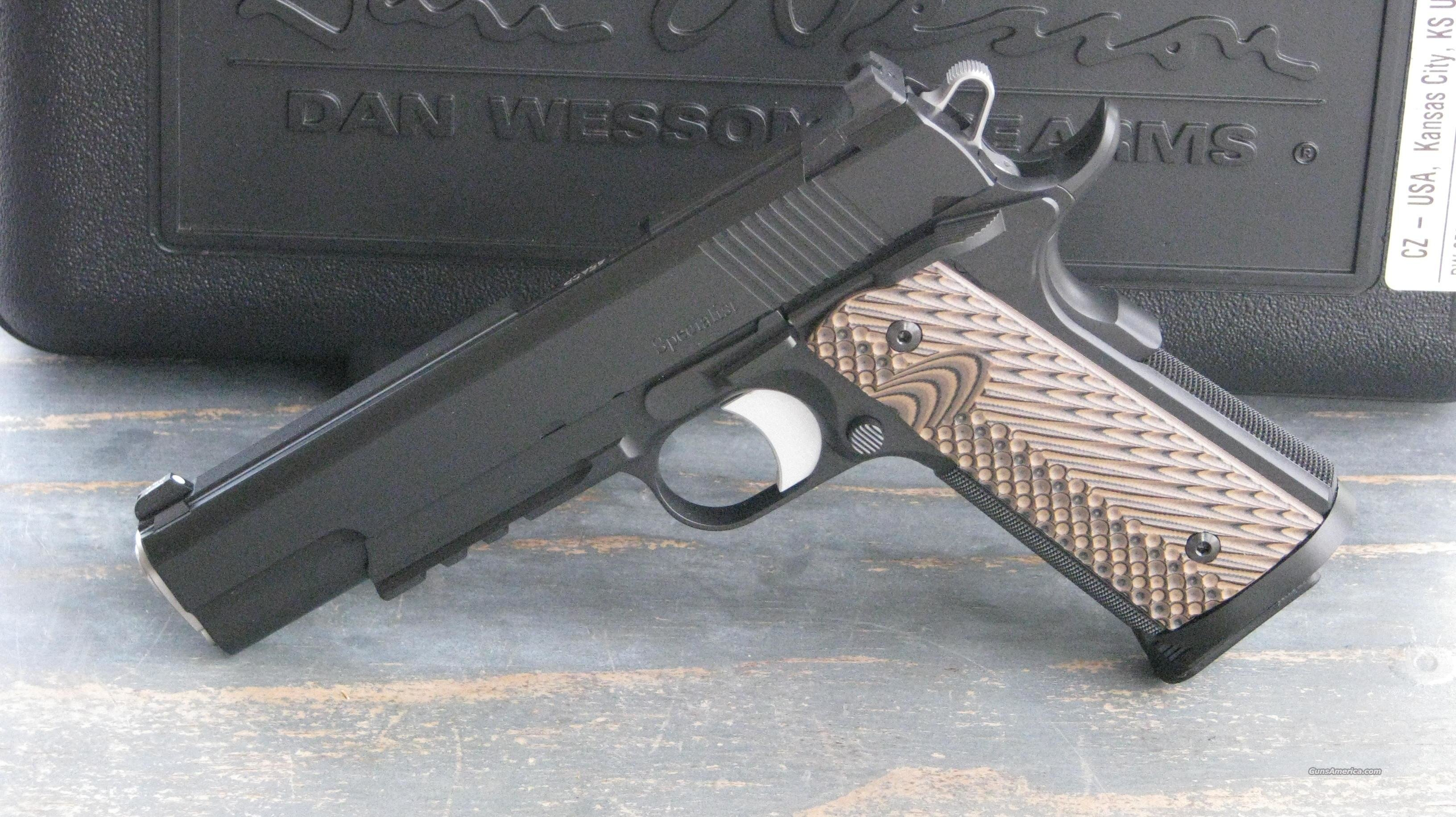 CZ Dan Wesson 1911 Specialist 01992 /EASY PAY $170 Monthly  Guns > Pistols > Dan Wesson Pistols/Revolvers > 1911 Style