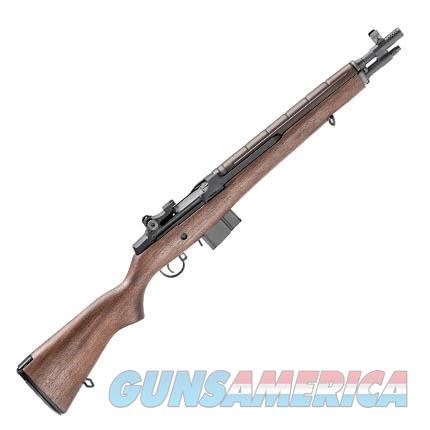 "$147 Easy Pay Layaway Springfield M1A Tanker Classic  .308 Win / 7.62x51mm  16.25"" Barrel Compact maneuverable firepower easily stored  10rd Walnut Parkerized Steel Ghost Ring Aperture rear sight Adjustable for both Windage & Elevation  Guns > Rifles > Military Misc. Rifles US > M1A/M14"