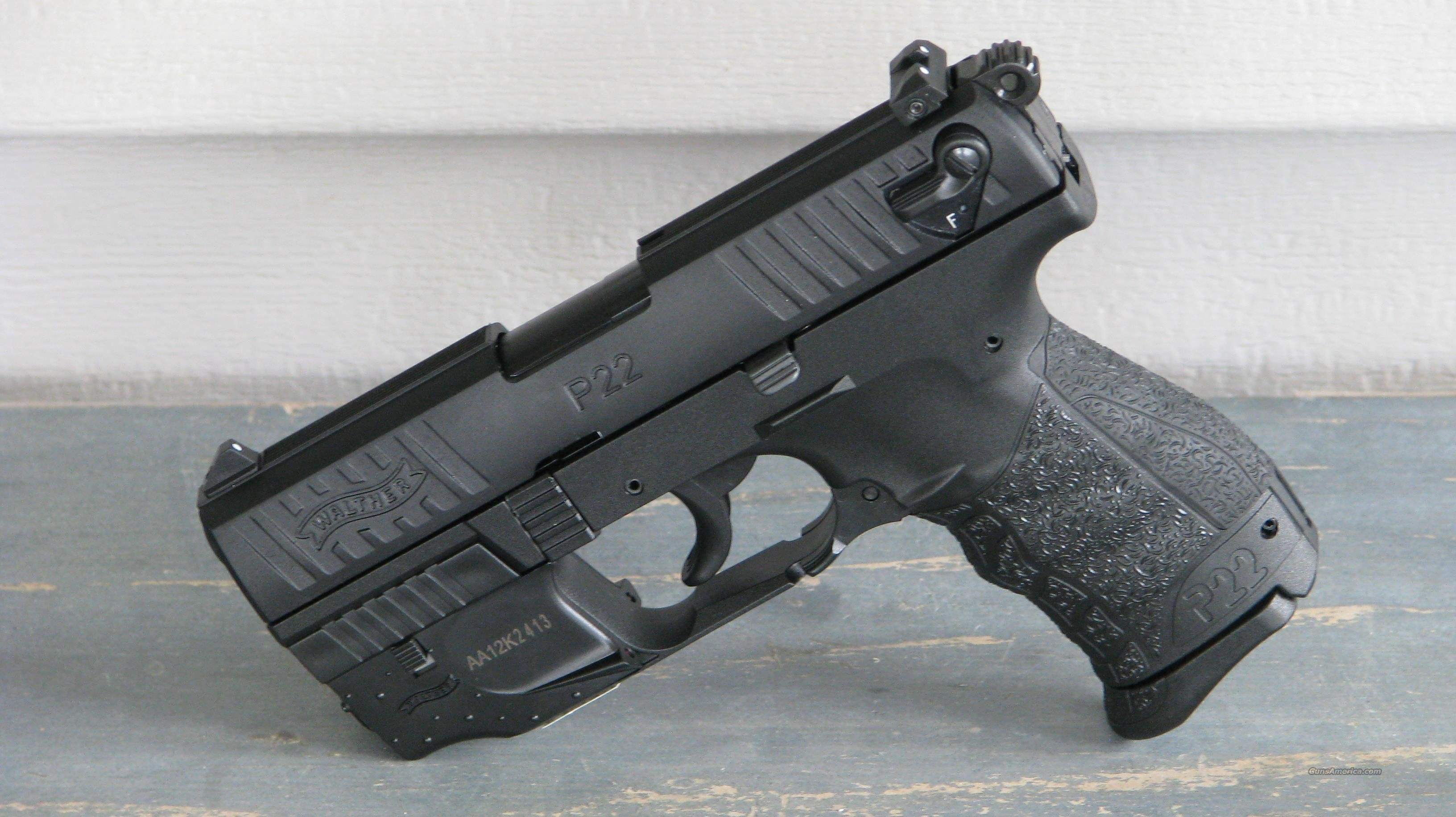 "Walther P22 W/Laser ""EASY PAY $86 "" 5120329 P 22  Guns > Pistols > Walther Pistols > Post WWII > P22"