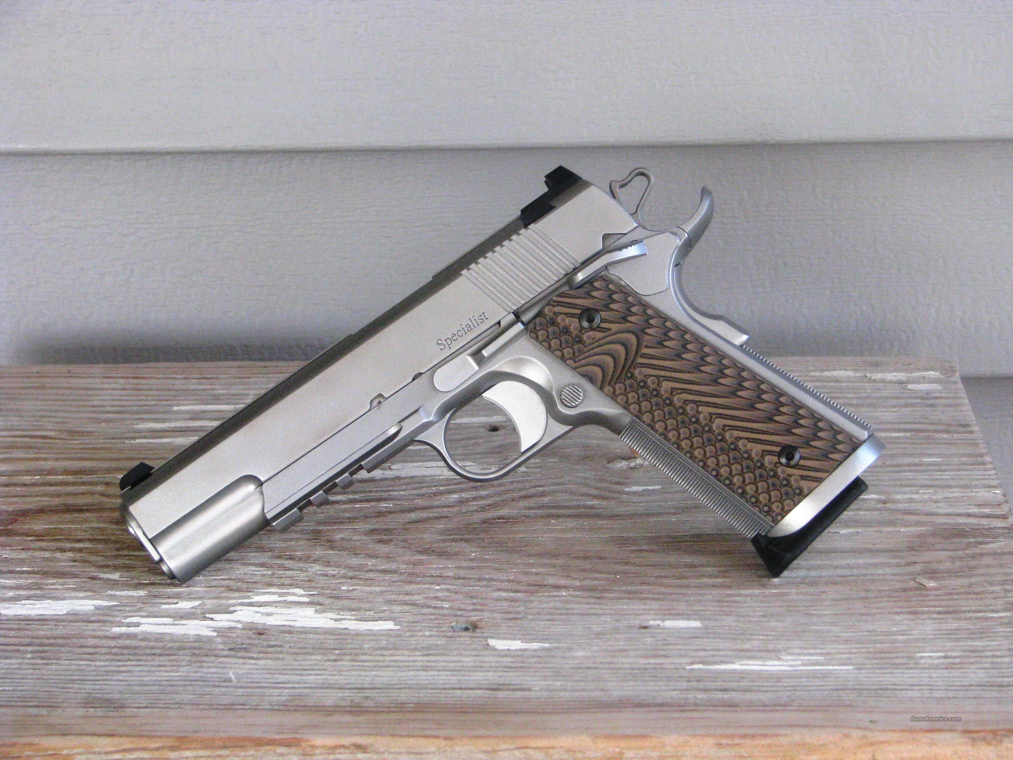 CZ 1911 Dan Wesson Specialist EASY PAY $132 01992  Guns > Pistols > Dan Wesson Pistols/Revolvers > 1911 Style