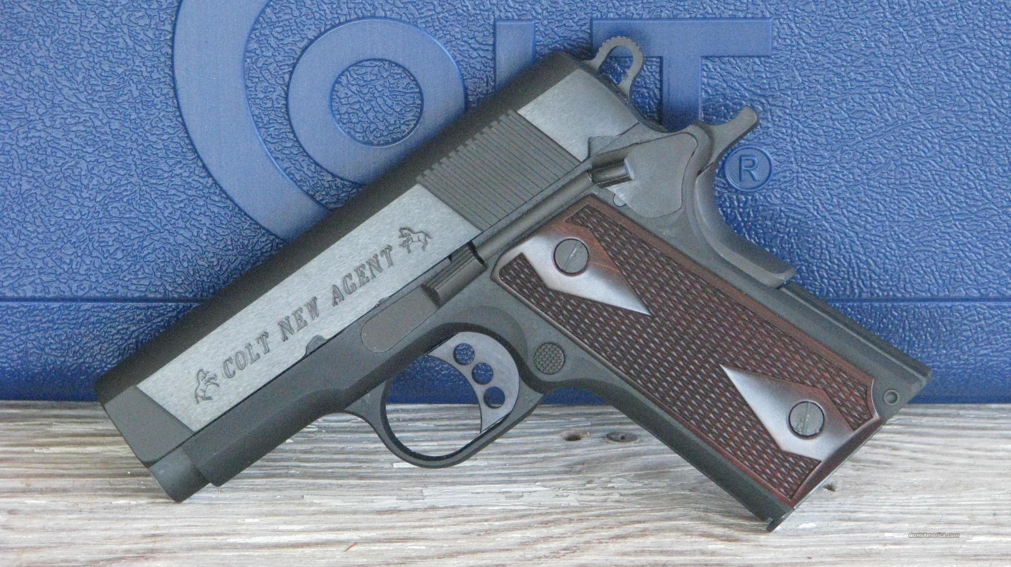 Colt 1911 New Agent O7810D /EASY PAY $94  Monthly  Guns > Pistols > Colt Automatic Pistols (1911 & Var)
