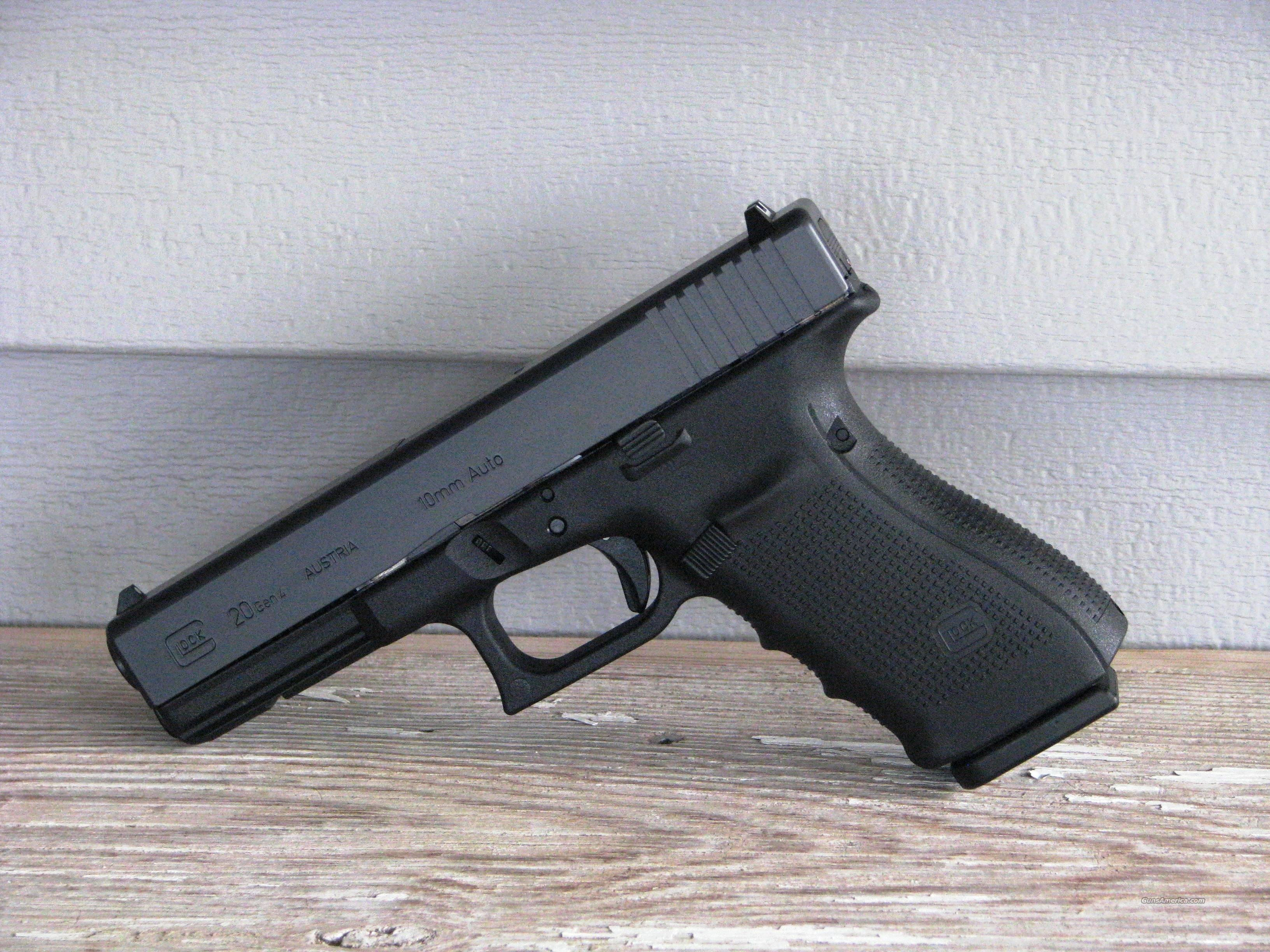 "Glock 20 Gen4 G20 10mm ""EASY PAY $60 per Month"" PG2050203 Summer Sale !!!!  Guns > Pistols > Glock Pistols > 20/21"