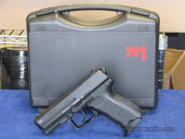 H&K 704203-A5 P2000 V3 40 S&W 2-12rd MAGs 704203A5  Guns > Pistols > Smith & Wesson Pistols - Autos > Steel Frame