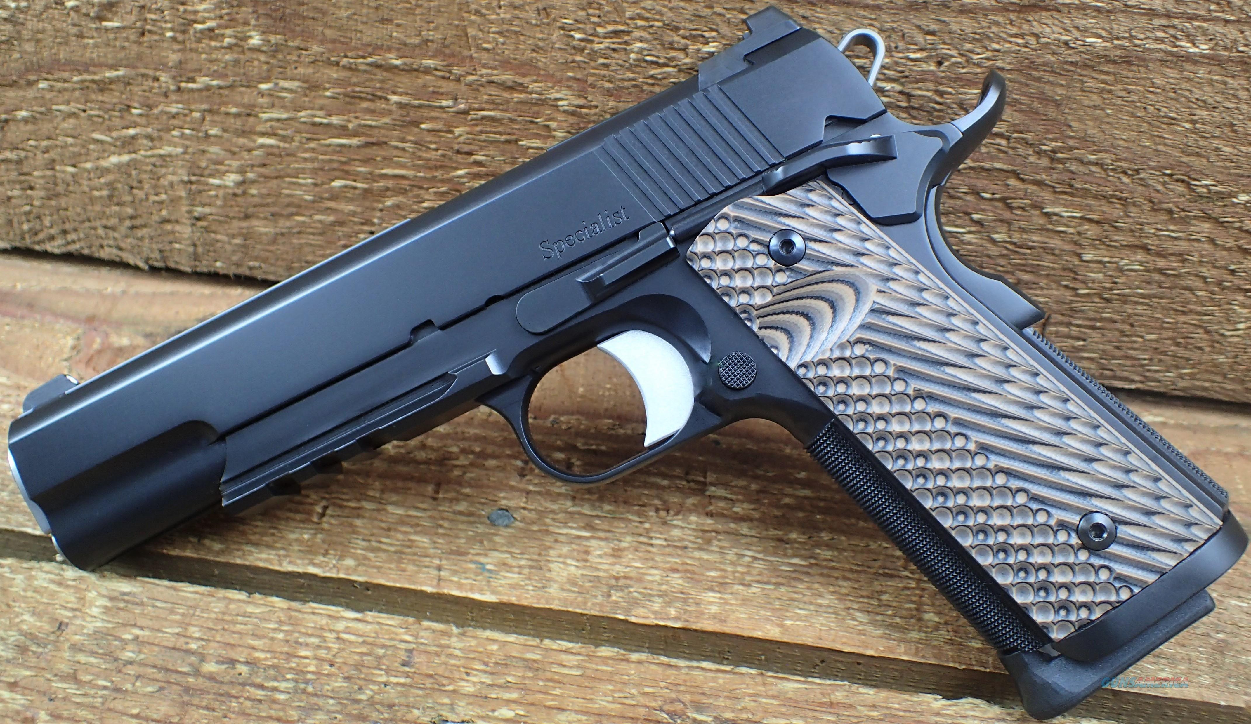 cz Dan Wesson 1911 SPECIALIST 01892 /EZ PAY $160  Guns > Pistols > Dan Wesson Pistols/Revolvers > 1911 Style