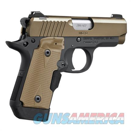 EASY PAY $62 DOWN LAYAWAY 12 MONTHLY PAYMENTS concealed carry  intuitive operation of a 1911 KIMBER MICRO operation of a 1911 380 ACP DESERT TAN 3300177  Guns > Pistols > Kimber of America Pistols > Micro