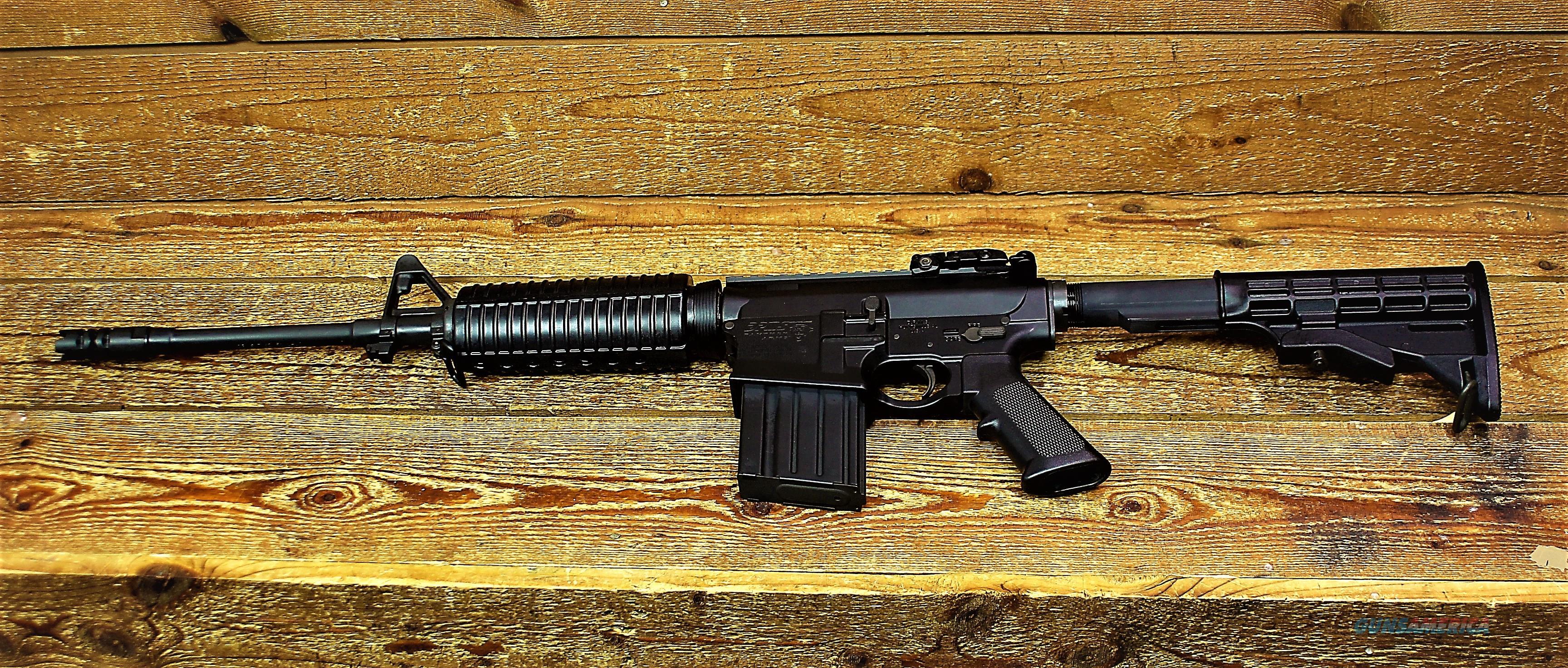 "Sale $95 EASY PAY LAYAWAY DPMS National Rifle Association's Golden Bullseye Award Winner Panther Arms GII AP4   .308 Win 7.62 NATO 16"" Lightweight Barrel 20 Rds M4 Collapsible Stock A2 Pistol Grip Black AR-10 AR10 hunters RFLR-G2AP4  60220  Guns > Rifles > DPMS - Panther Arms > Complete Rifle"