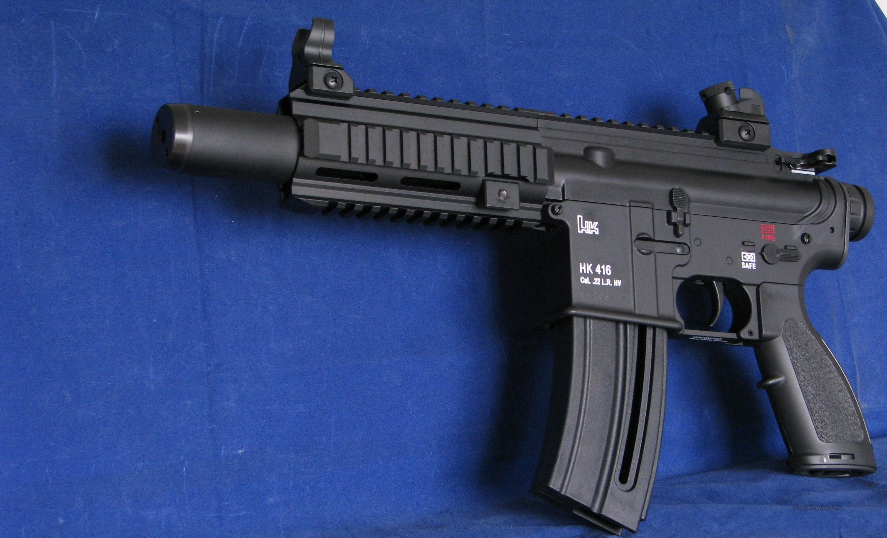"Walther HK 416 Pistol 22LR ""EASY PAY $96"" 5780303   Guns > Pistols > Walther Pistols > Post WWII > P22"