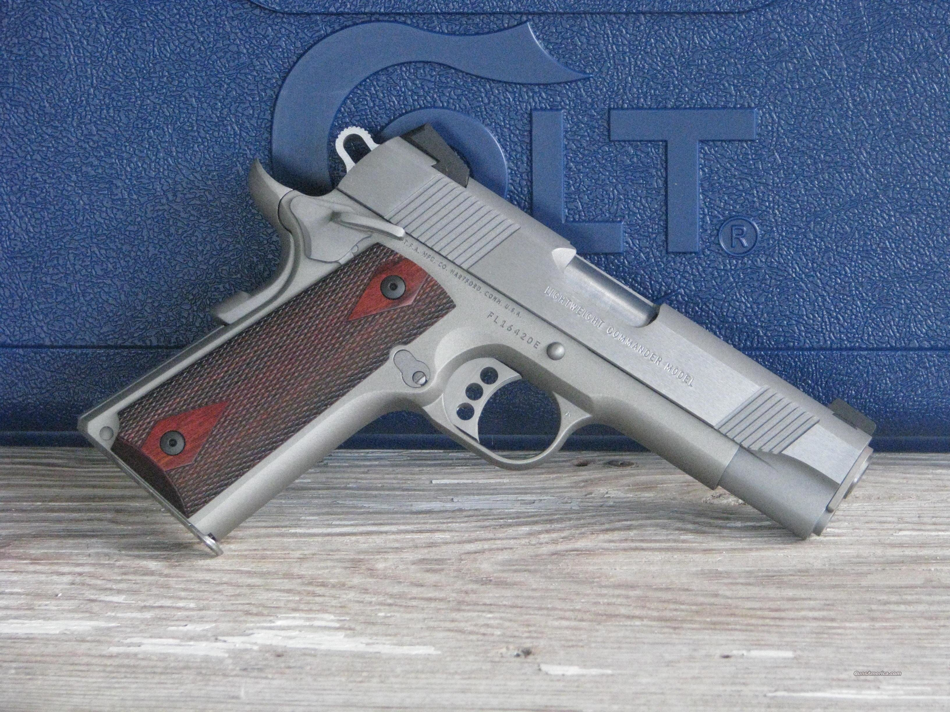 "Colt 1911 Lightweight Commander O4860XSE ""EASY PAY $95 MONTHLY""  Guns > Pistols > Colt Automatic Pistols (1911 & Var)"