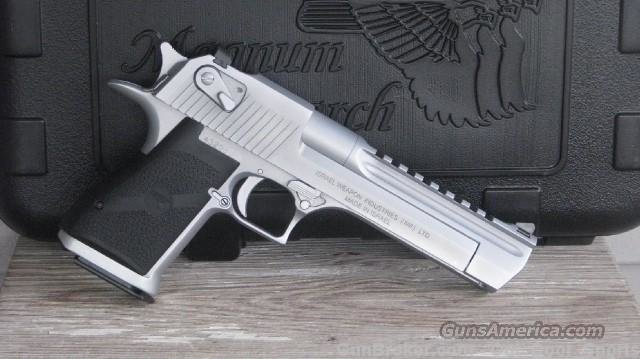 Magnum Research Mark XIX ISRAELI MADE DE44MC/EASY PAY $97 Monthly  Guns > Pistols > Magnum Research Pistols