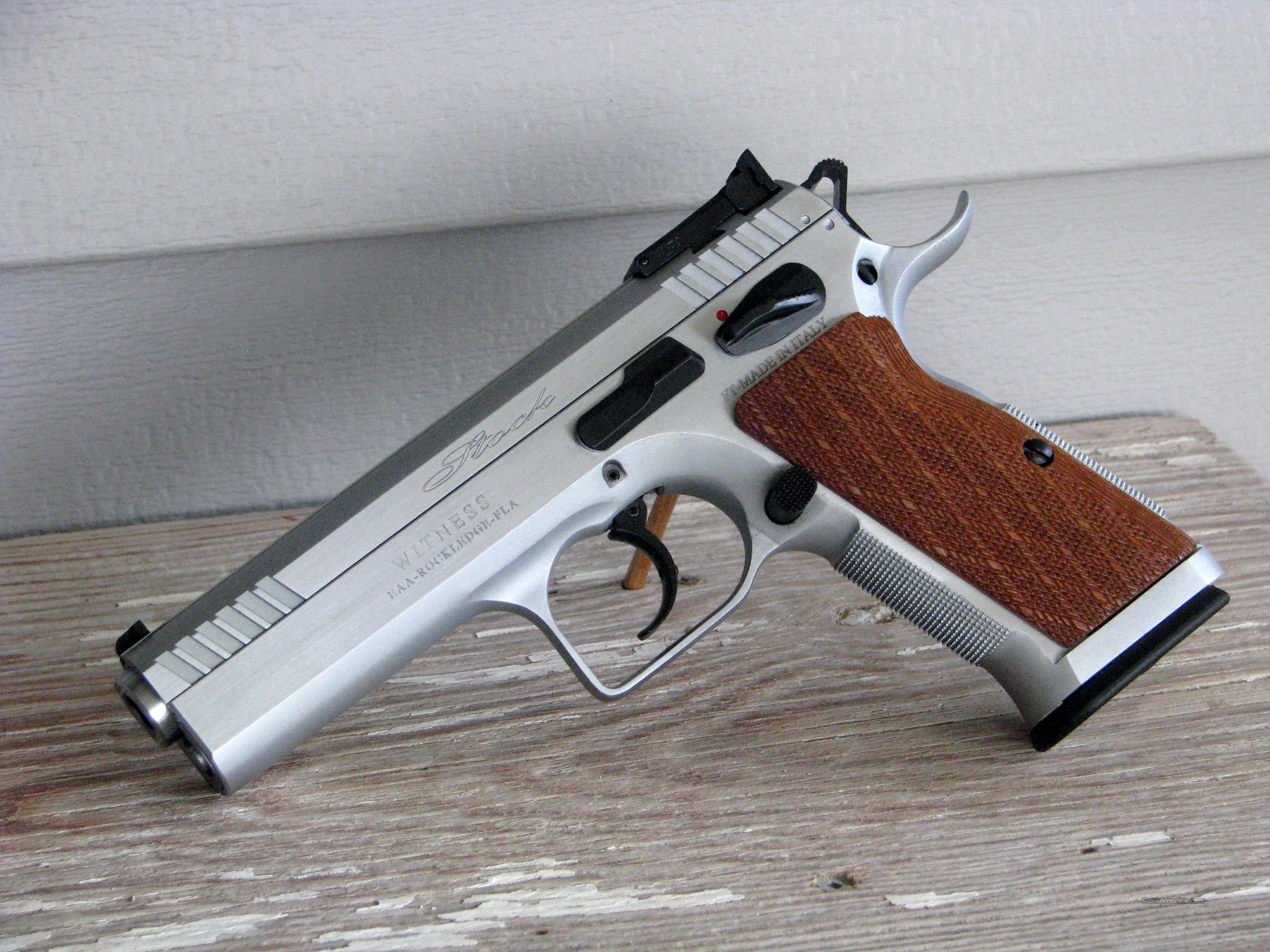 "EAA Stock II Witness 10MM 600615 ""EASY PAY $86 Monthly""  Guns > Pistols > EAA Pistols > Other"