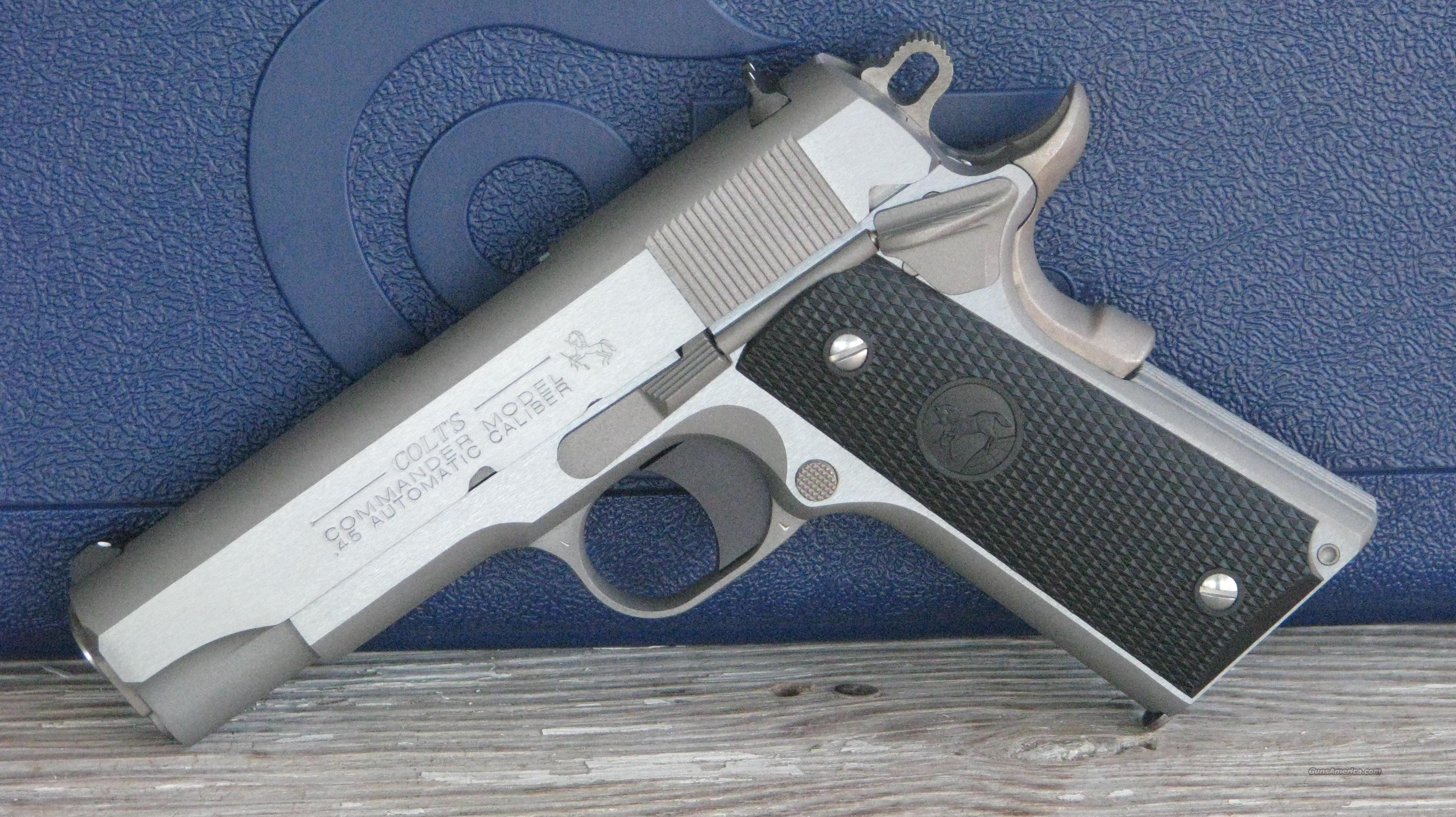 Colt 1911 Commander O4091U /EASY PAY $89.00  Guns > Pistols > Colt Automatic Pistols (1911 & Var)