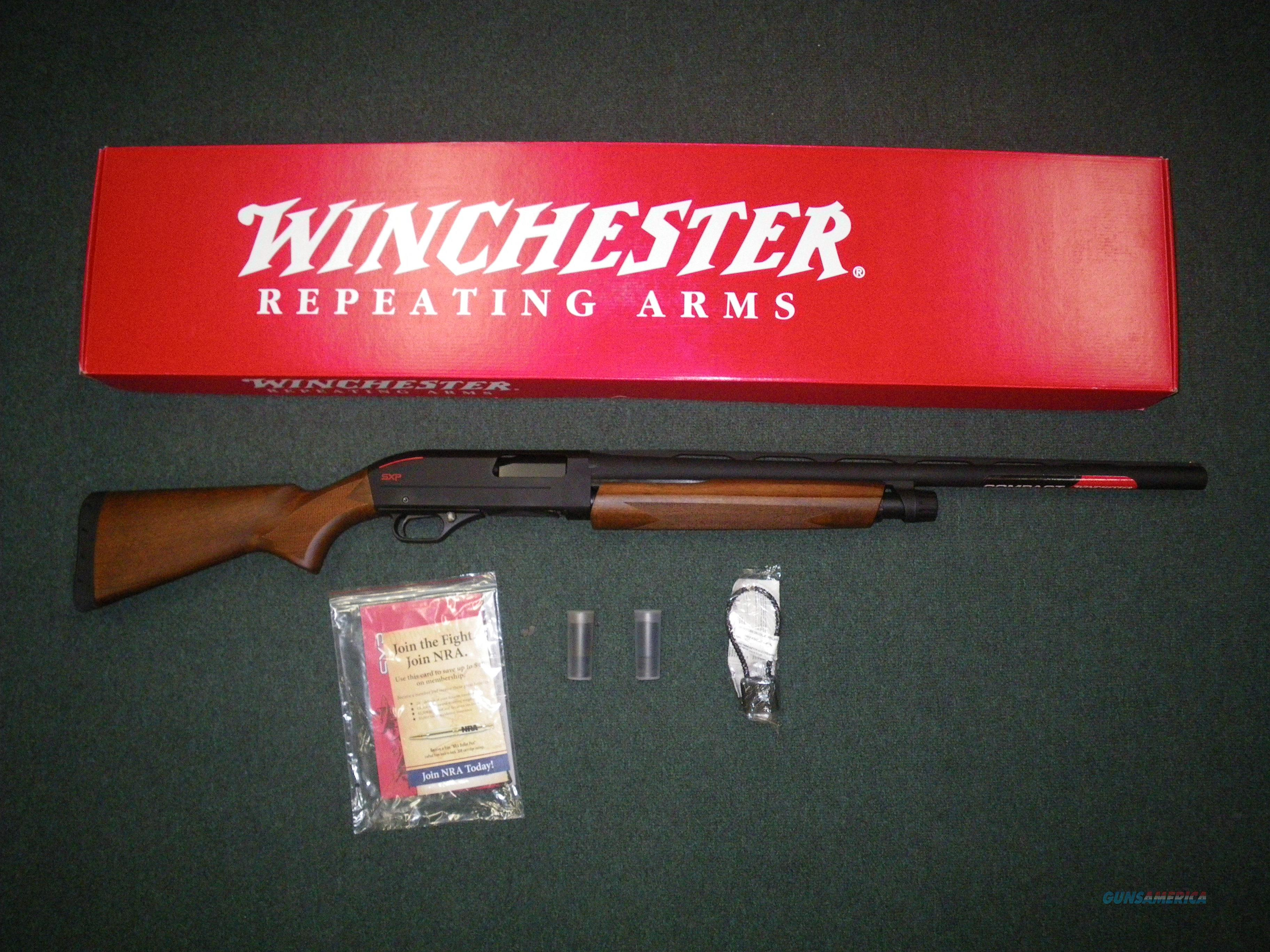 "Winchester SXP Compact Field 12ga 24"" NEW 3"" Chamber  512287390  Guns > Shotguns > Winchester Shotguns - Modern > Pump Action > Hunting"