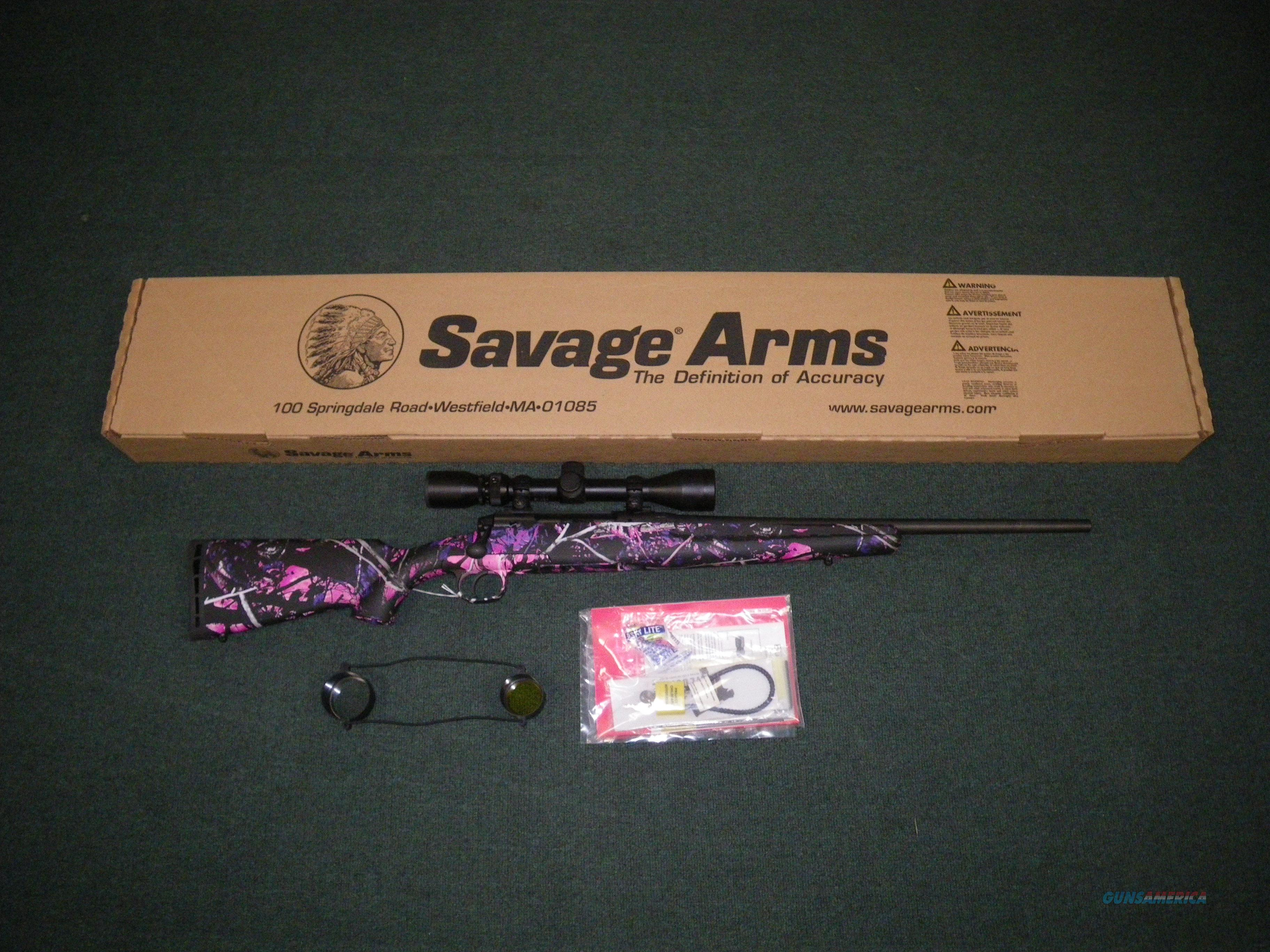 "Savage Axis XP Youth Muddy Girl 243 Win 20"" #19976  Guns > Rifles > Savage Rifles > Axis"