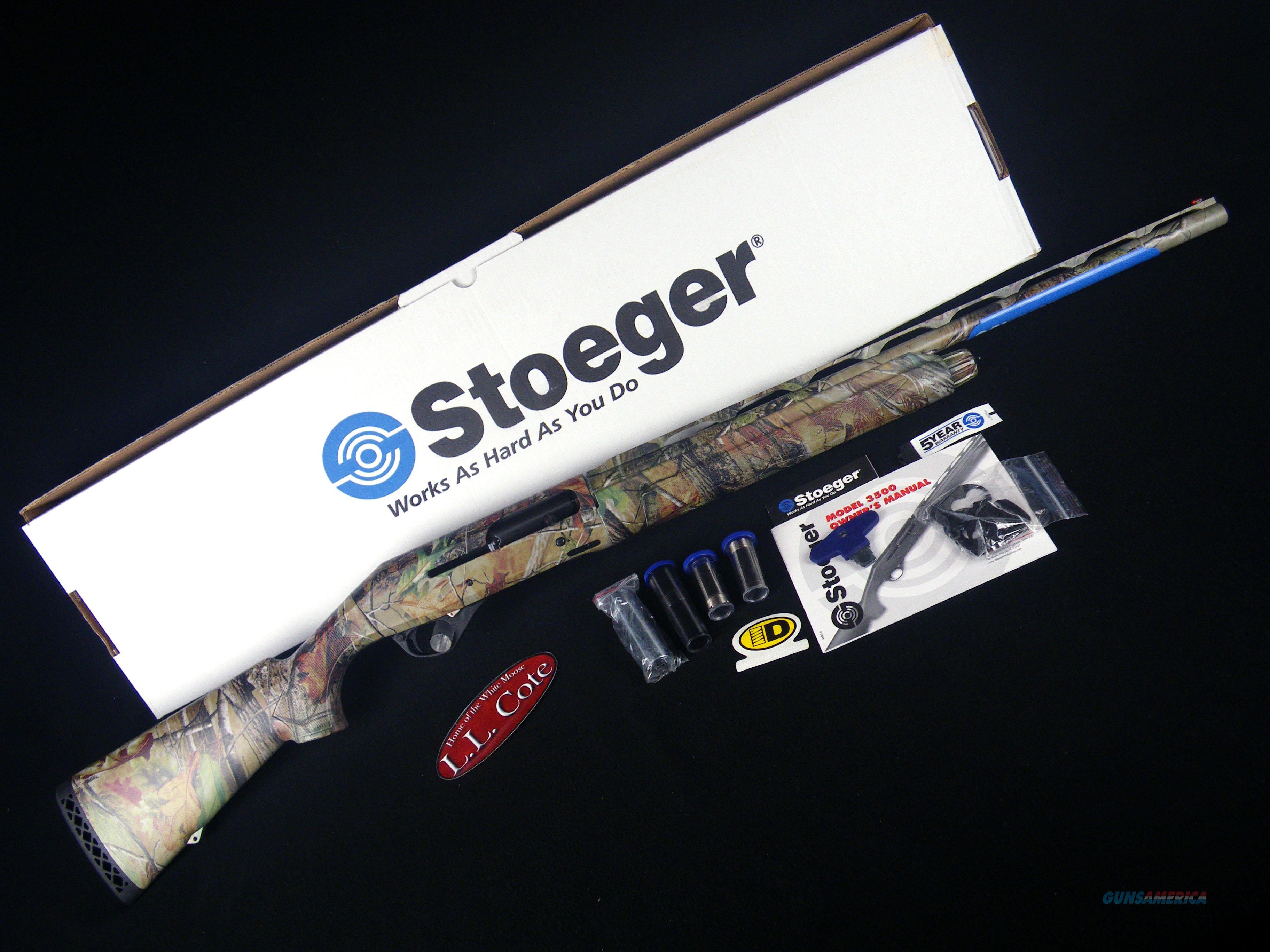 """Stoeger M3500 Realtree APG 12ga 24"""" NEW 3.5"""" 31807  Guns > Shotguns > Stoeger Shotguns"""