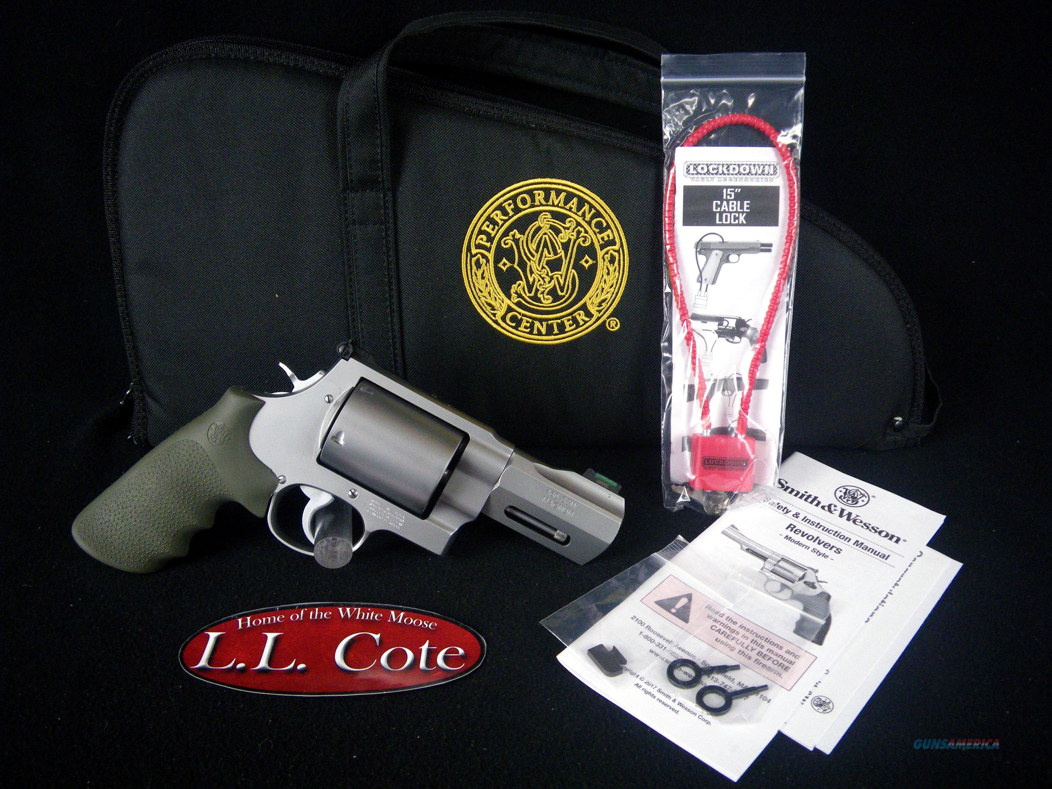 """Smith & Wesson Perf Ctr Model 460XVR 3.5"""" NEW 170350  Guns > Pistols > Smith & Wesson Revolvers > Performance Center"""