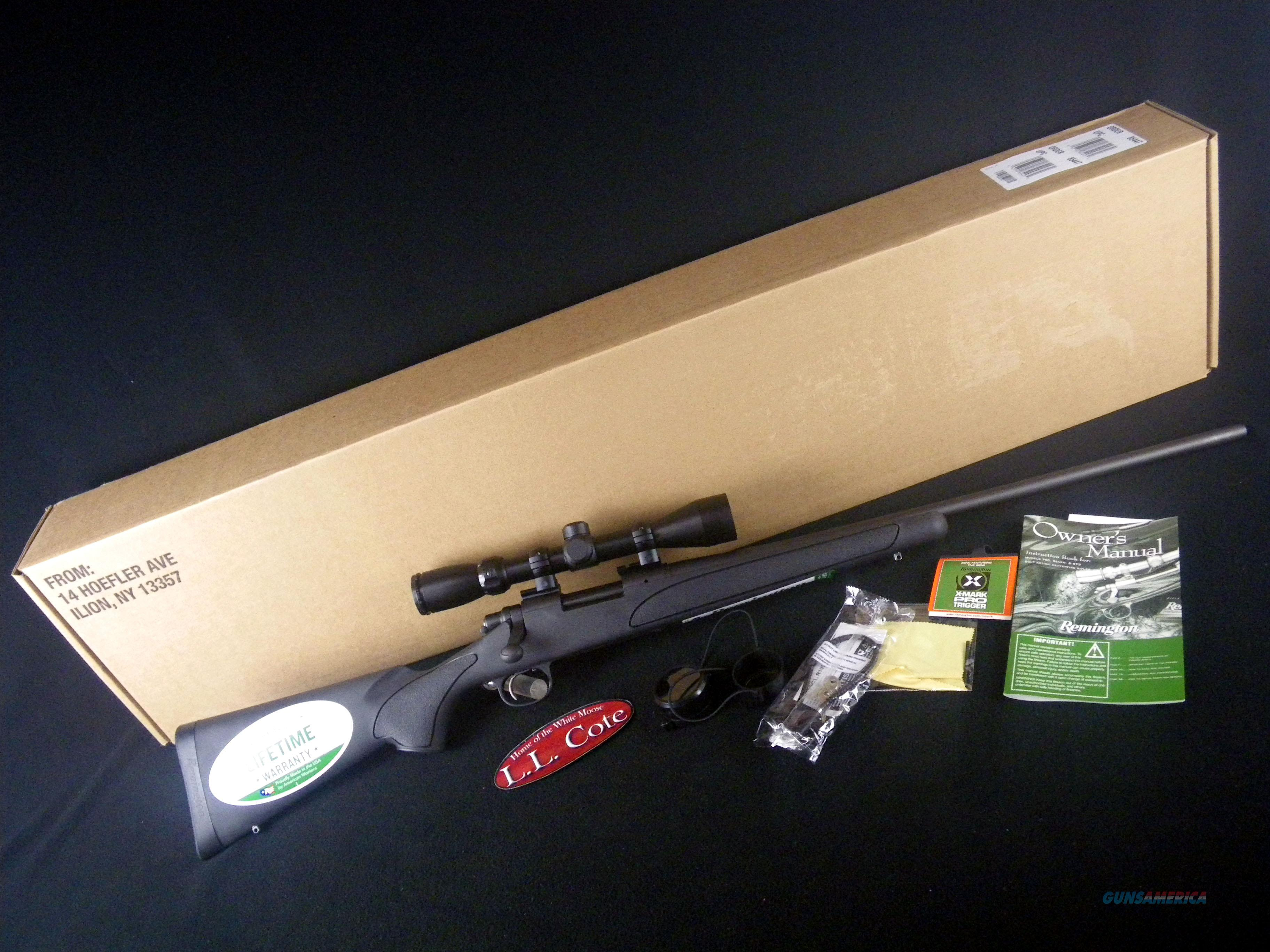 "Remington 700 ADL W/Scope 30-06 Spfld 24"" NEW 27095  Guns > Rifles > Remington Rifles - Modern > Model 700 > Sporting"
