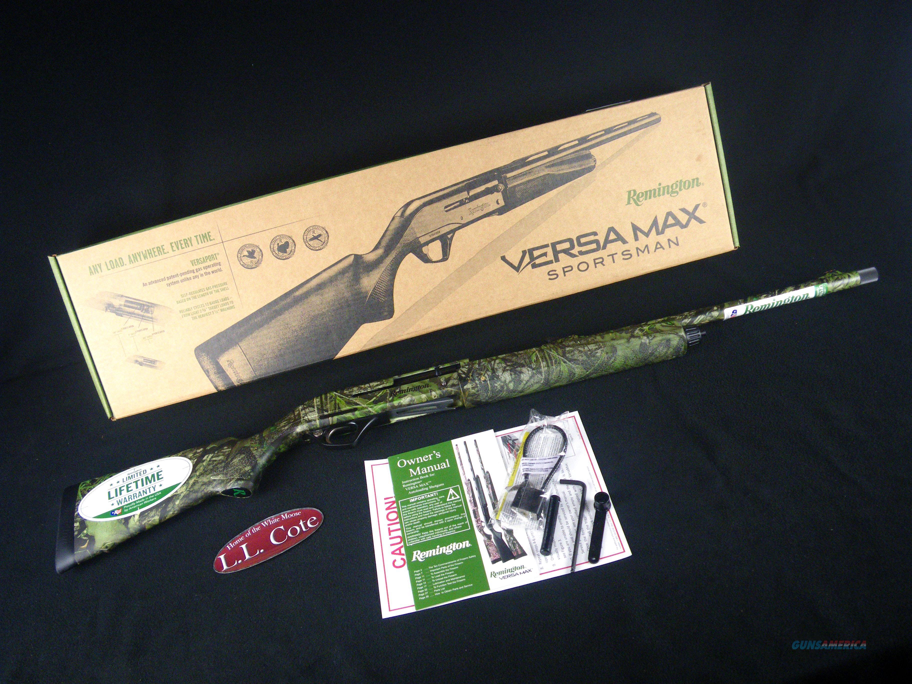 """Remington Versa Max Sportsman Turkey 12ga 22"""" NEW 81028  Guns > Shotguns > Remington Shotguns  > Autoloaders > Hunting"""