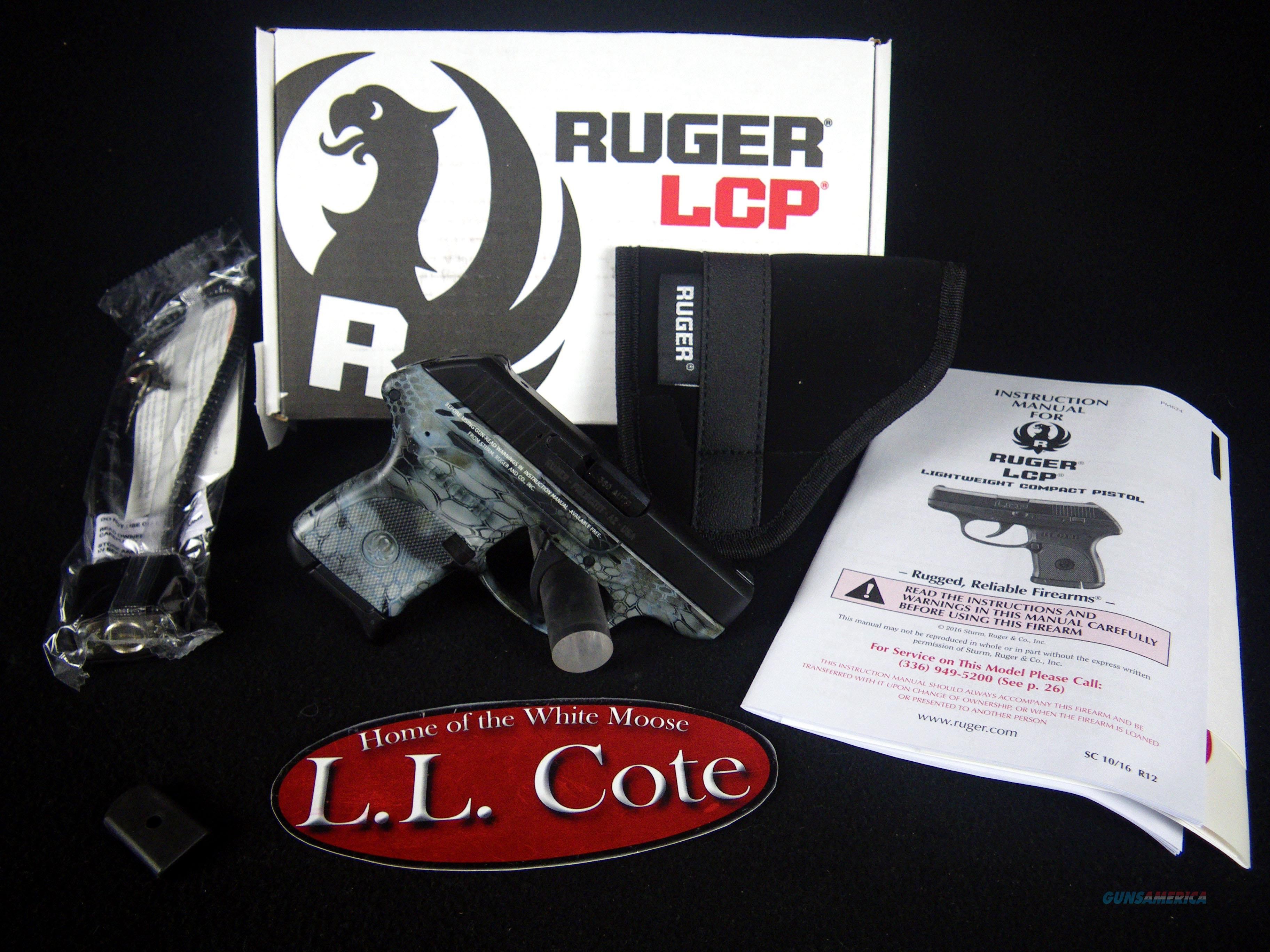 "Ruger LCP 380ACP 2.75"" Kryptek Neptune NEW 3743  Guns > Pistols > Ruger Semi-Auto Pistols > LCP"