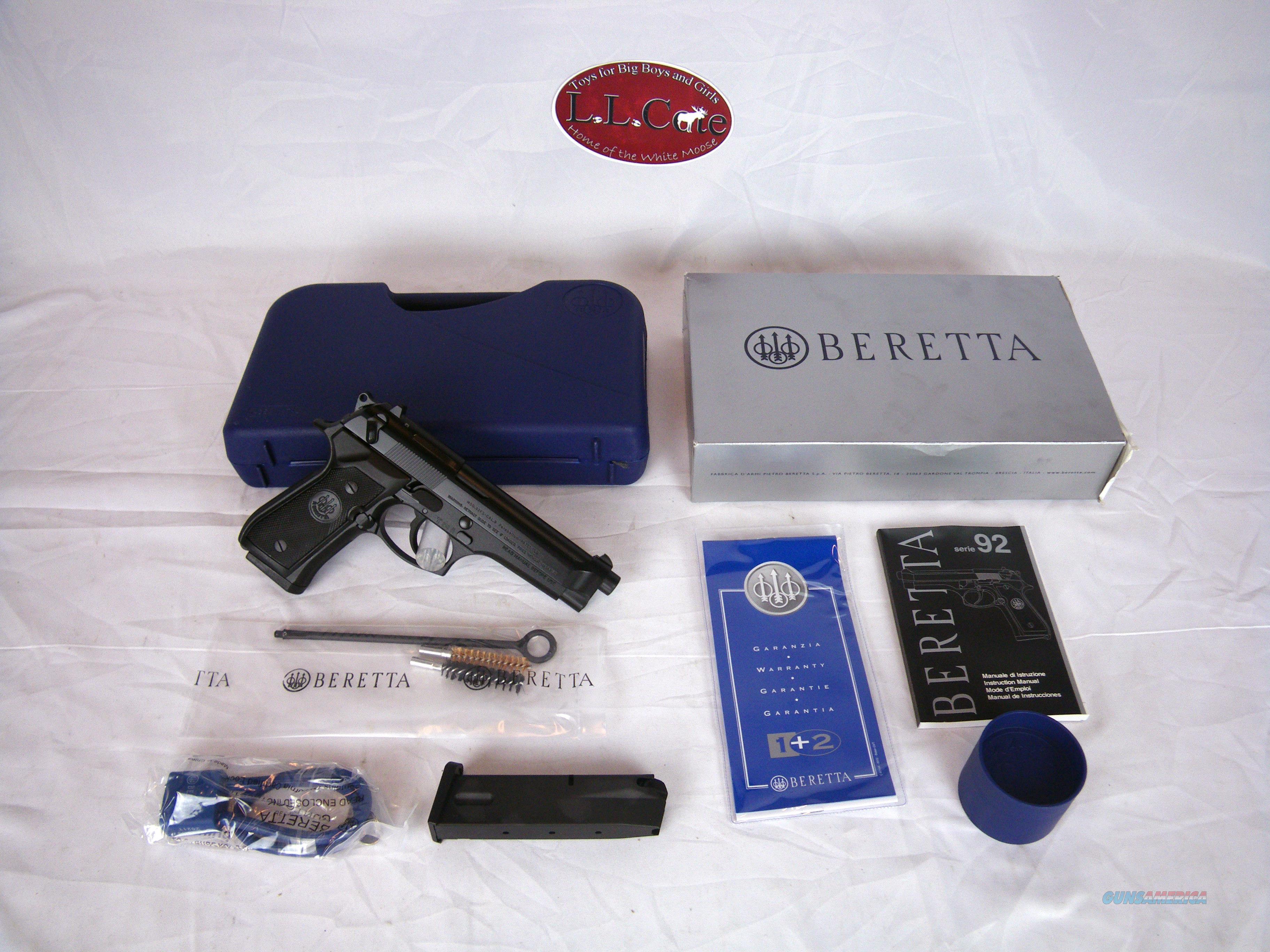 """Beretta 92FS Full Size 9mm 4.9"""" 15 Rnd JS92F300M  Guns > Pistols > Beretta Pistols > Model 92 Series"""