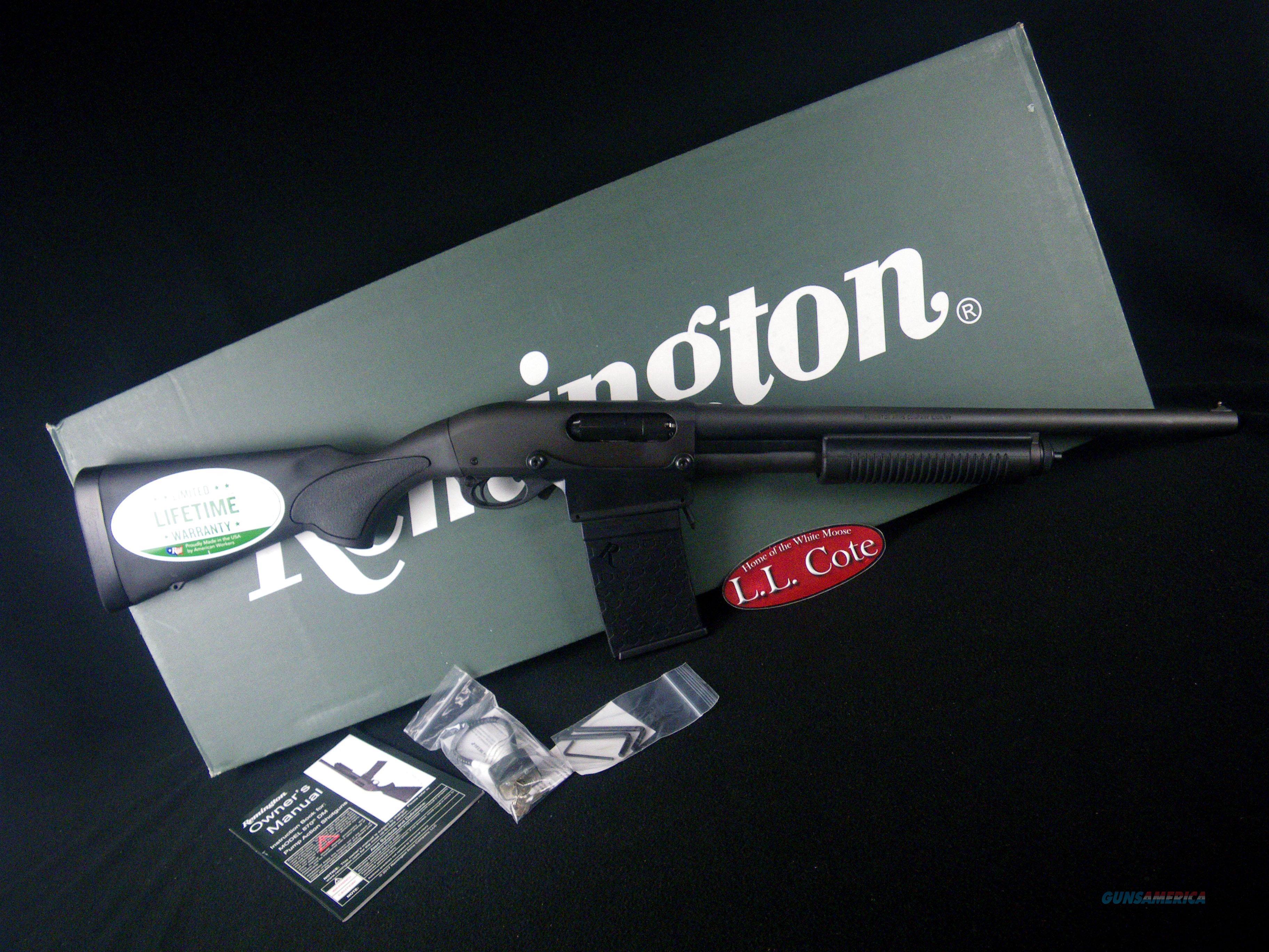 "Remington 870 DM Black 12ga 18.5"" NEW 3"" 81350  Guns > Shotguns > Remington Shotguns  > Pump > Hunting"