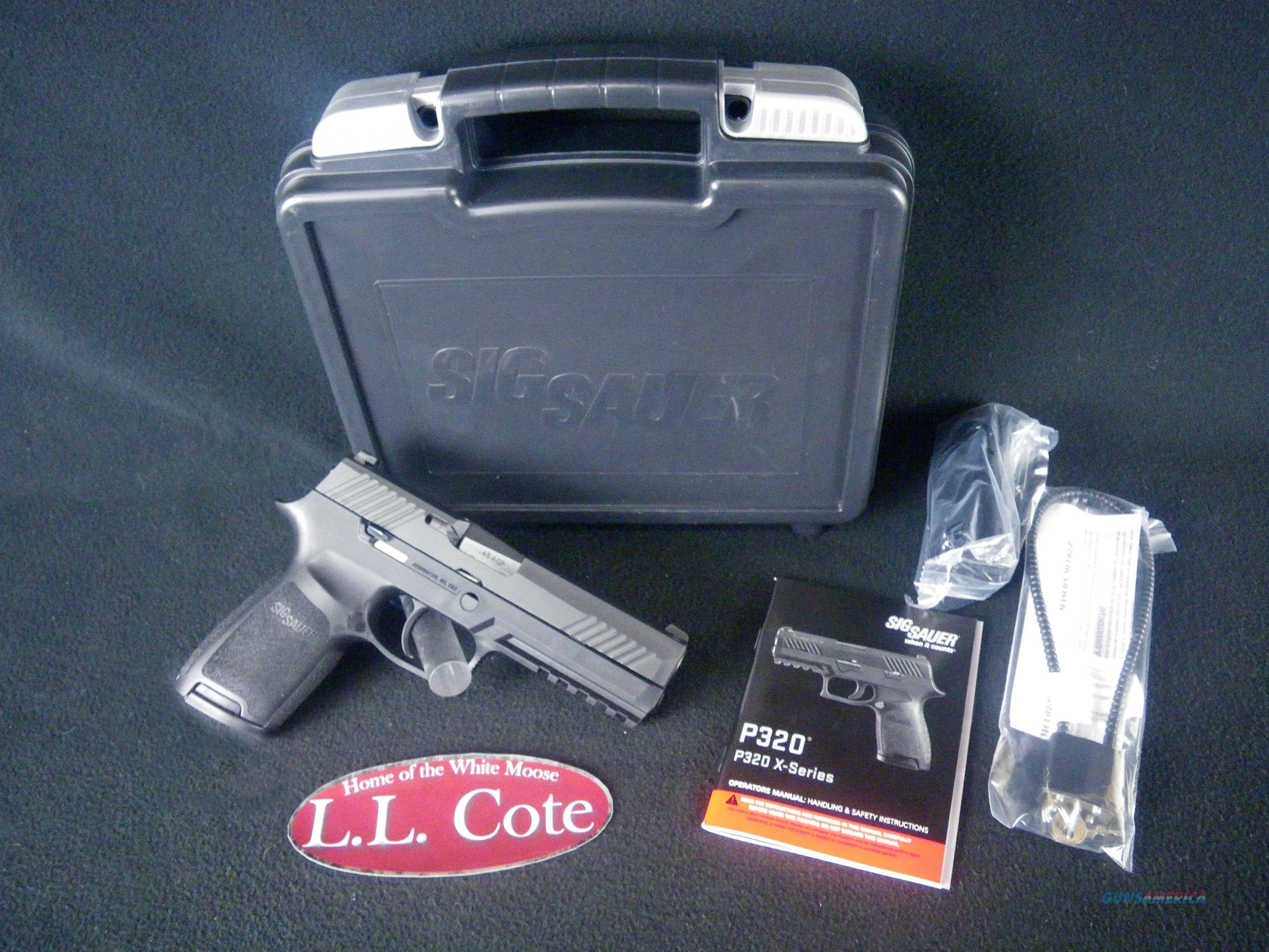 "Sig Sauer P320F 45 ACP 4.7"" Nitron 320F-45-BSS  Guns > Pistols > Sig - Sauer/Sigarms Pistols > P320"