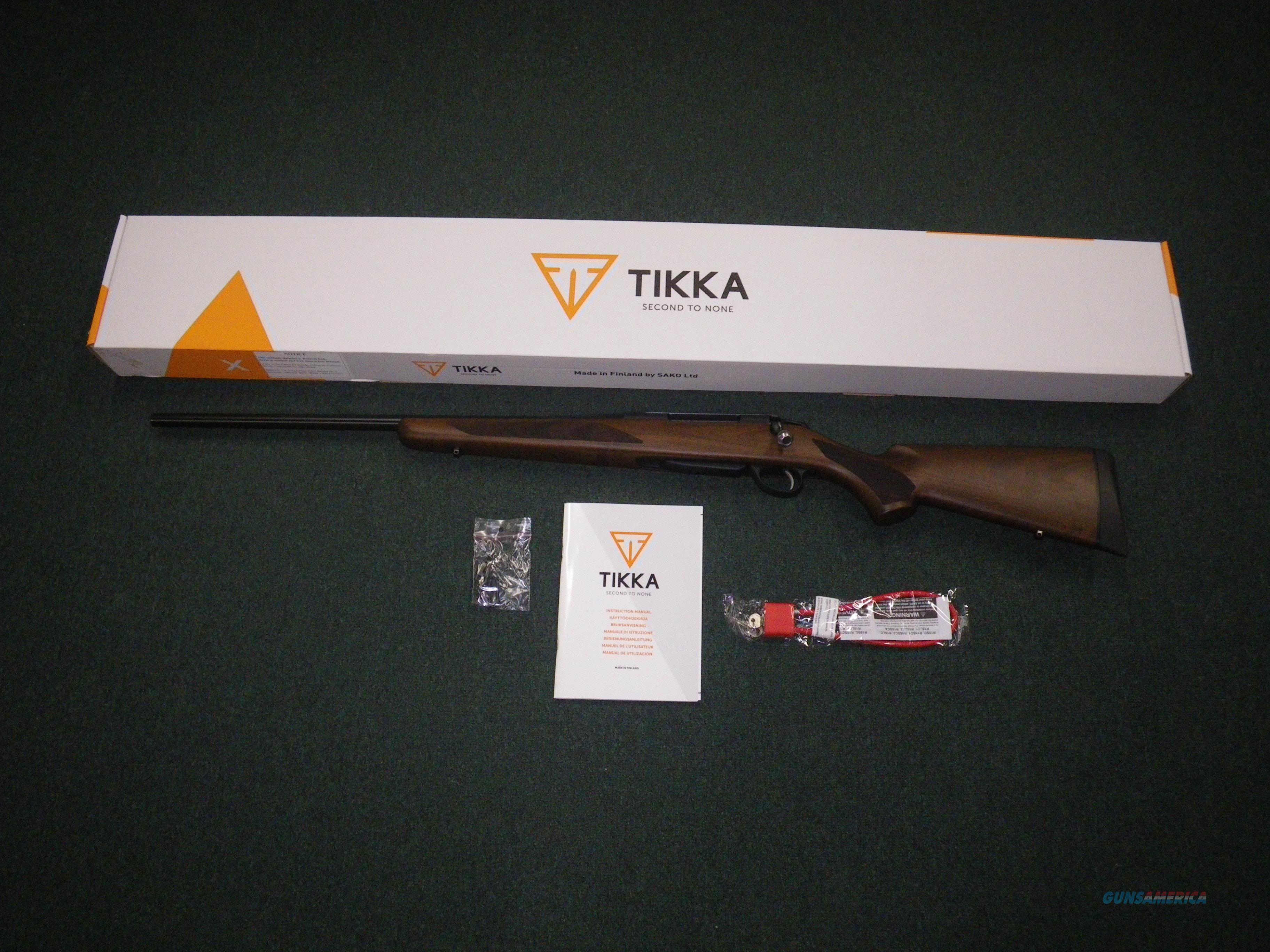 "Tikka T3x Hunter Left Hand 30-06 Spfld 22.4"" NEW JRTXA320L  Guns > Rifles > Tikka Rifles > T3"