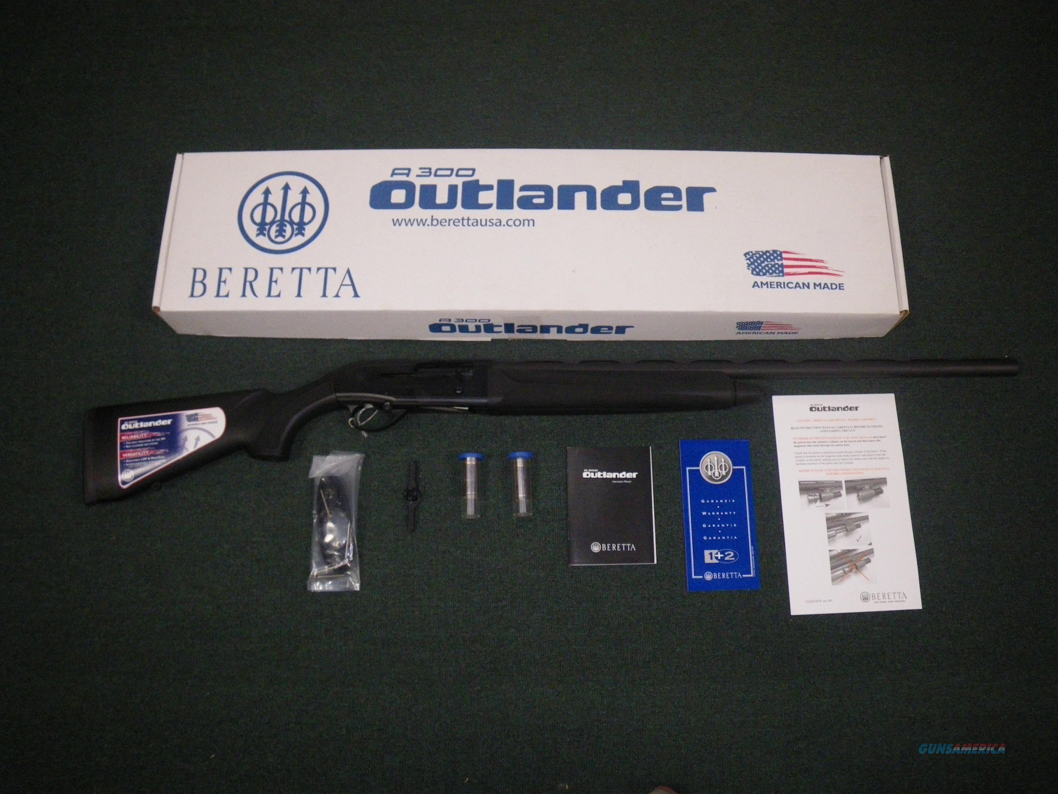"Beretta A300 Outlander Synthetic 12ga 28"" New #J30TT18  Guns > Shotguns > Beretta Shotguns > Autoloaders > Hunting"